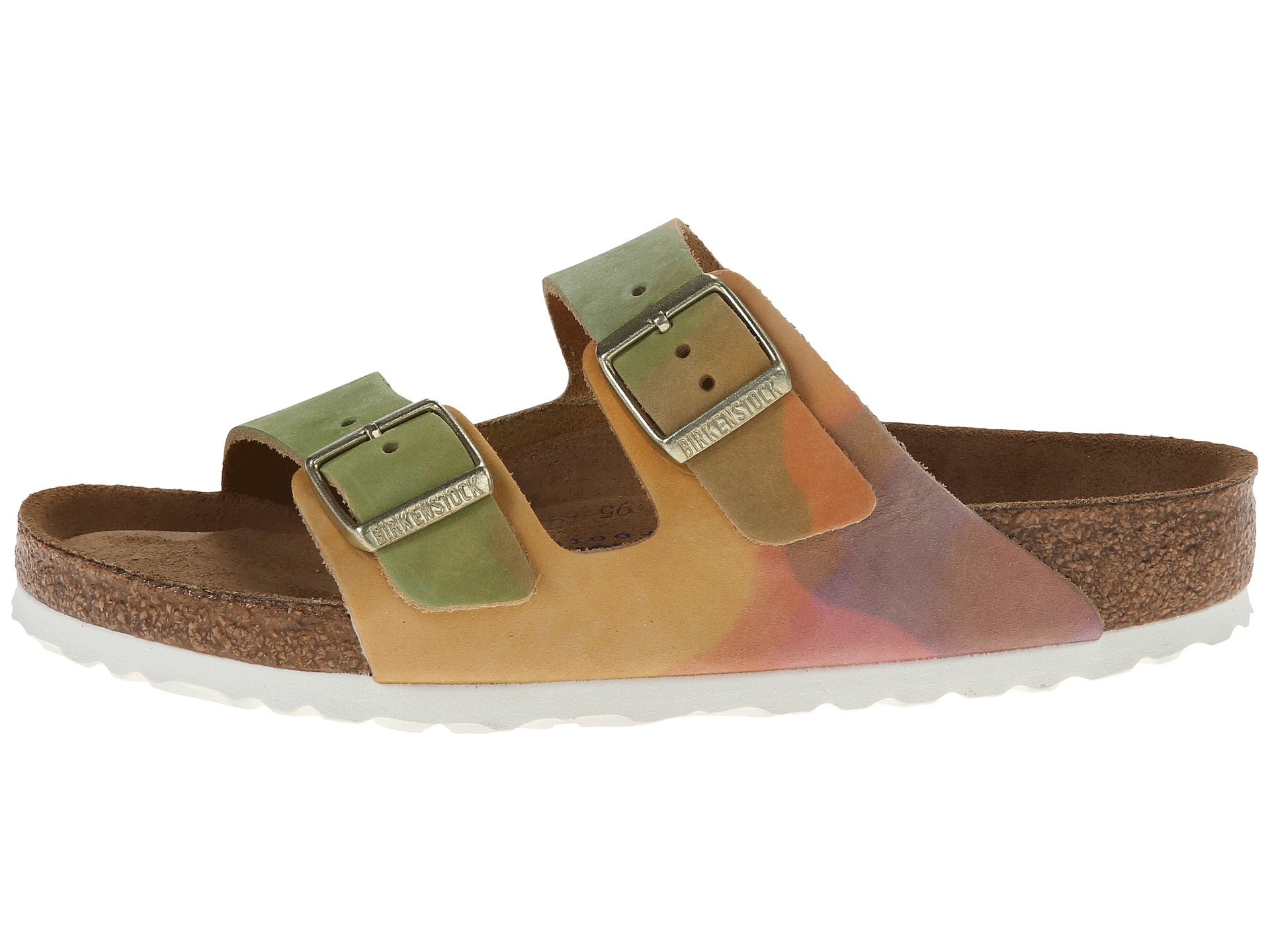 3385744dda33 Lyst - Birkenstock Arizona Soft Footbed - Leather (unisex) in Green
