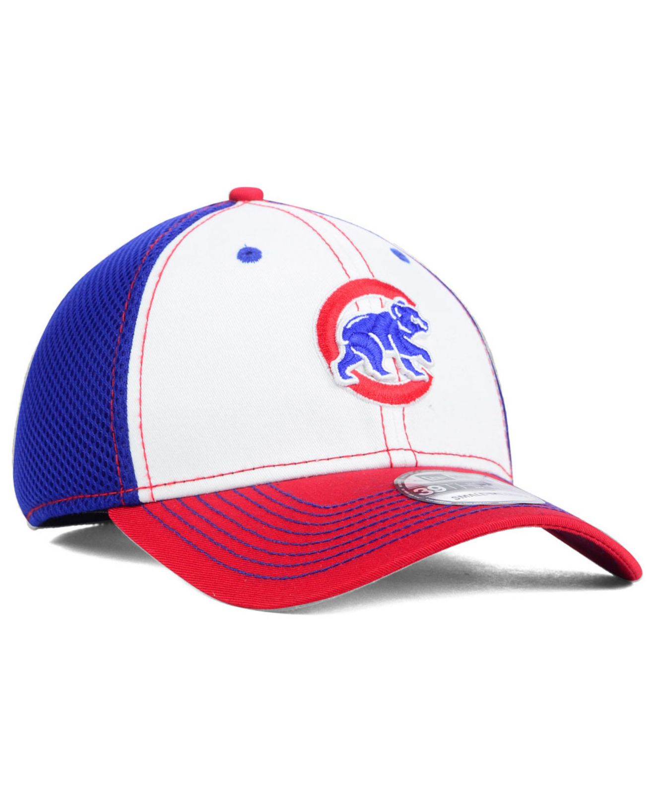 best service 974be 66781 ... coupon code for lyst ktz chicago cubs neo 39thirty cap in white for men  c2625 c94c6