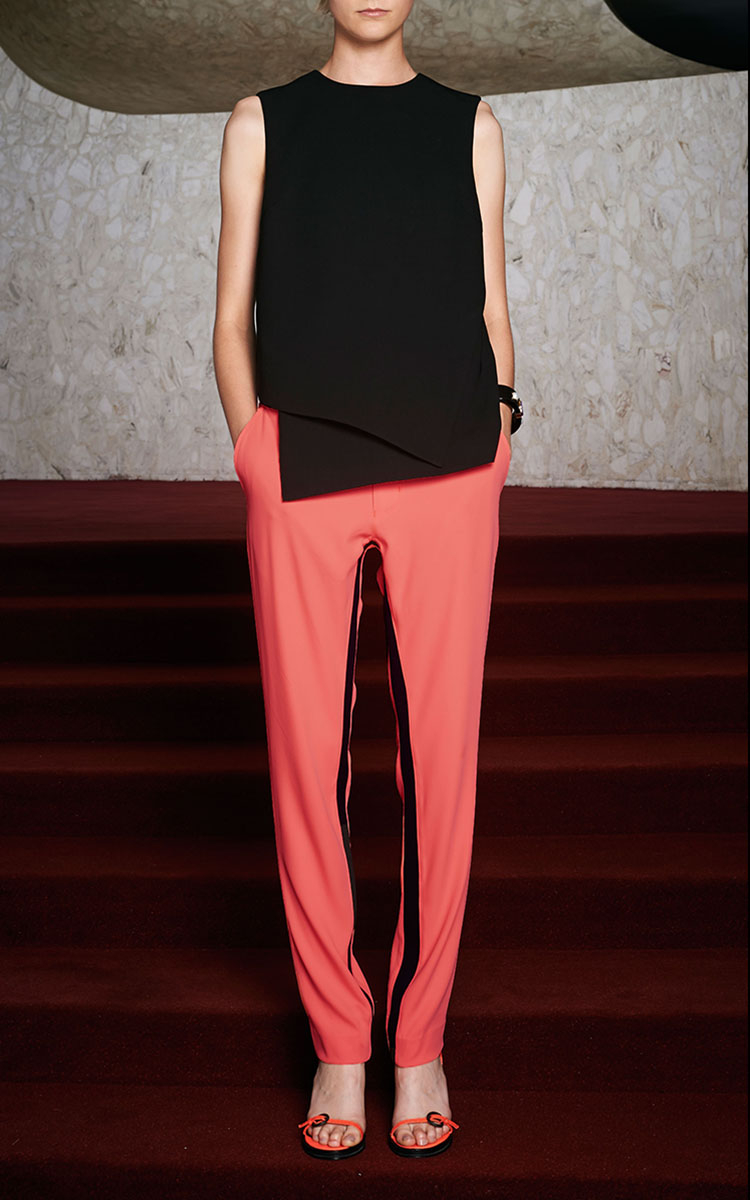 Opening Ceremony Fall 2015: Opening Ceremony Moodie Crepe Trouser In Tangier In