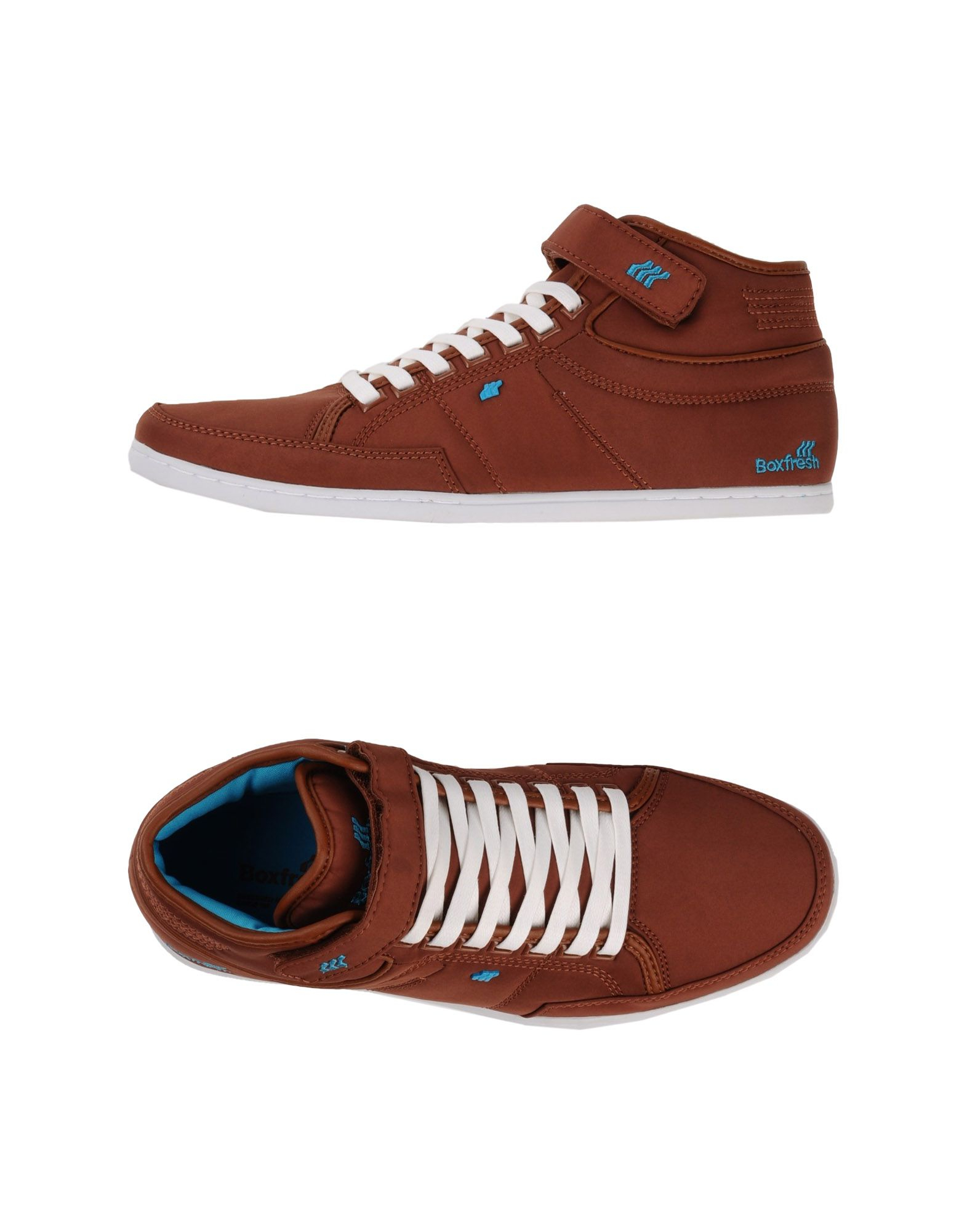 boxfresh high tops trainers in brown for men lyst. Black Bedroom Furniture Sets. Home Design Ideas