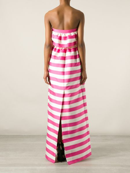 Dsquared2 Striped Dress in Pink (pink & purple)