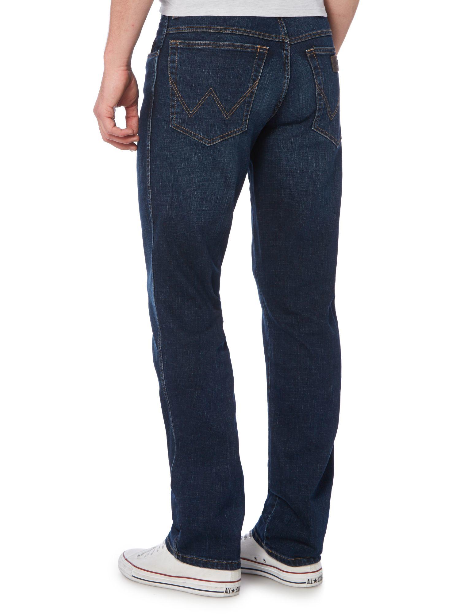 Wrangler Texas New Stone Regular Fit Jean In Blue For Men Lyst