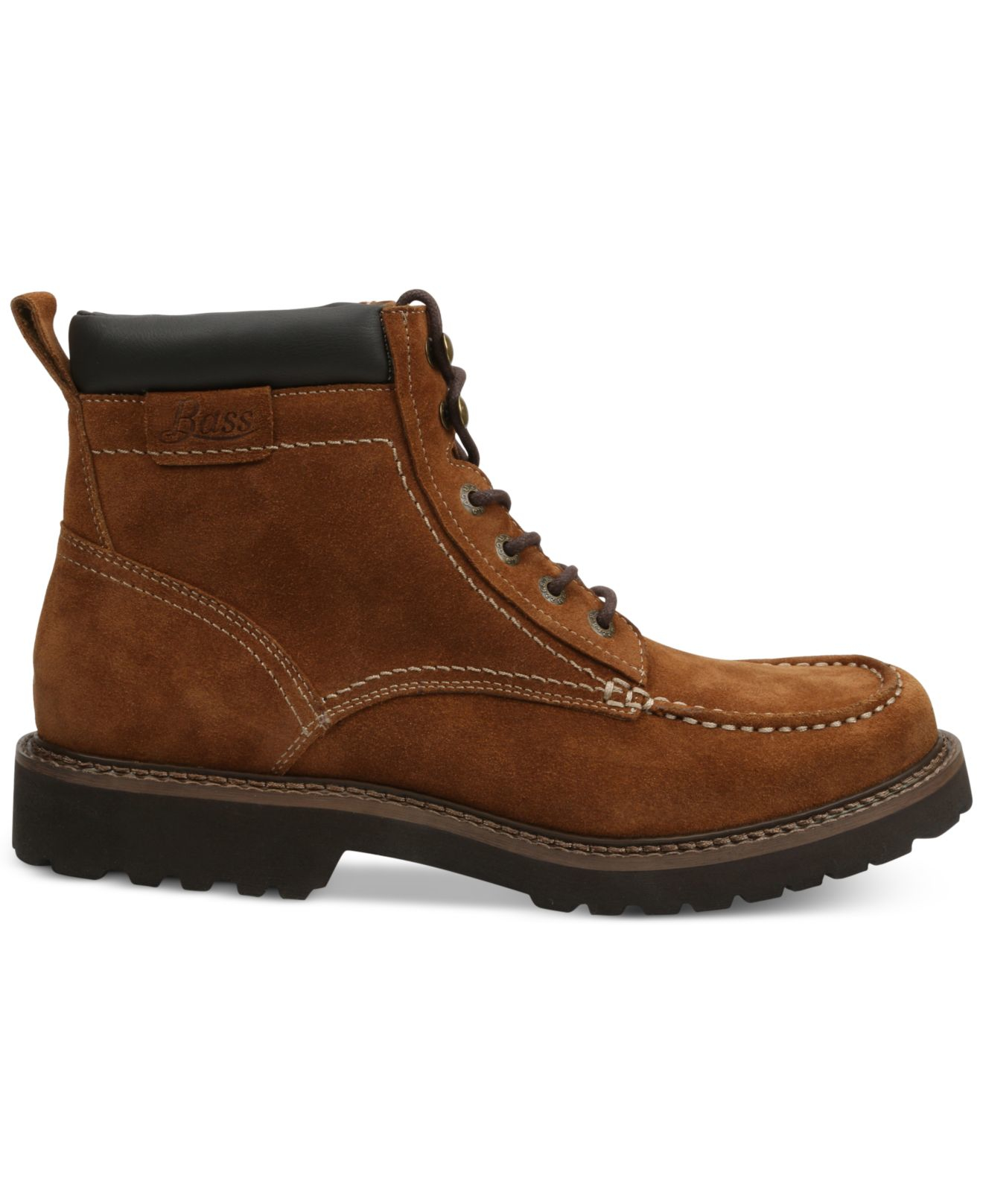 g h bass co errol moc toe boots in brown for rust