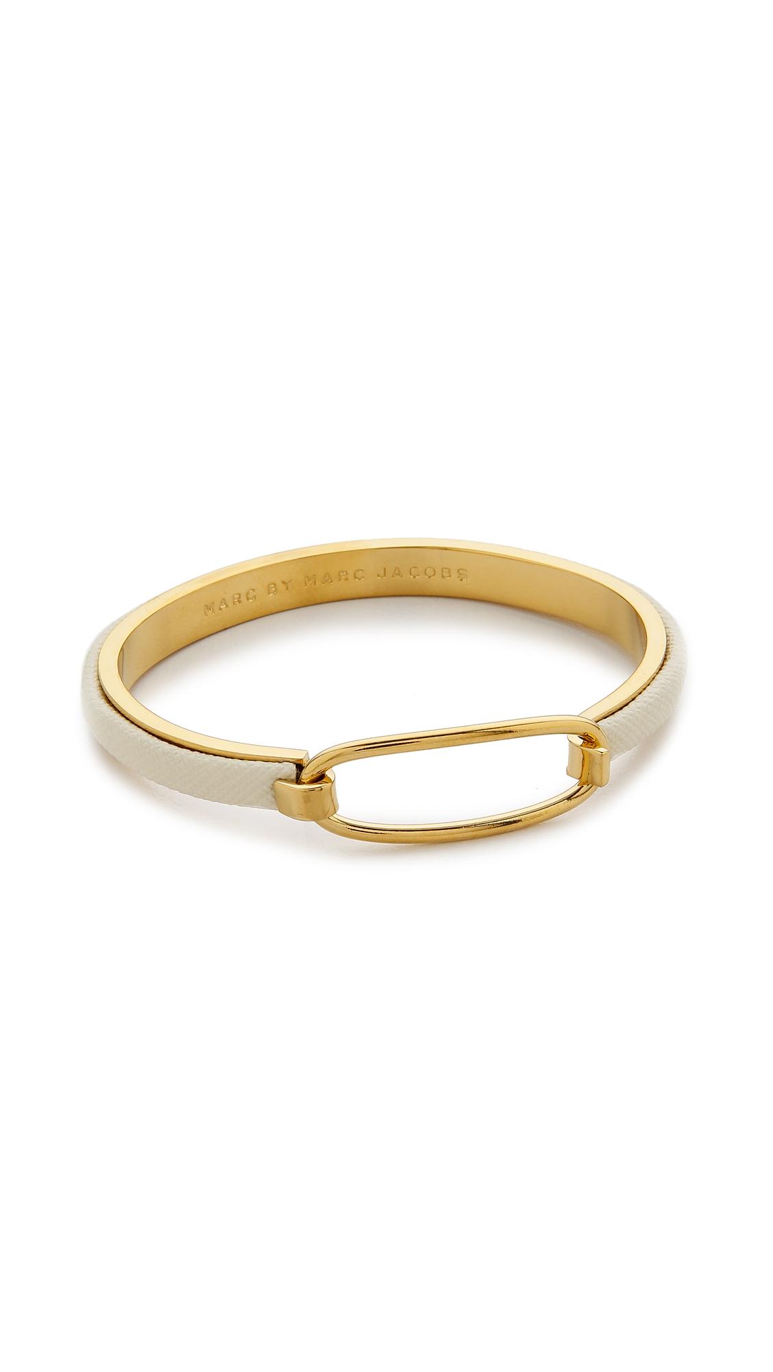 Marc jacobs gold cuff bracelet