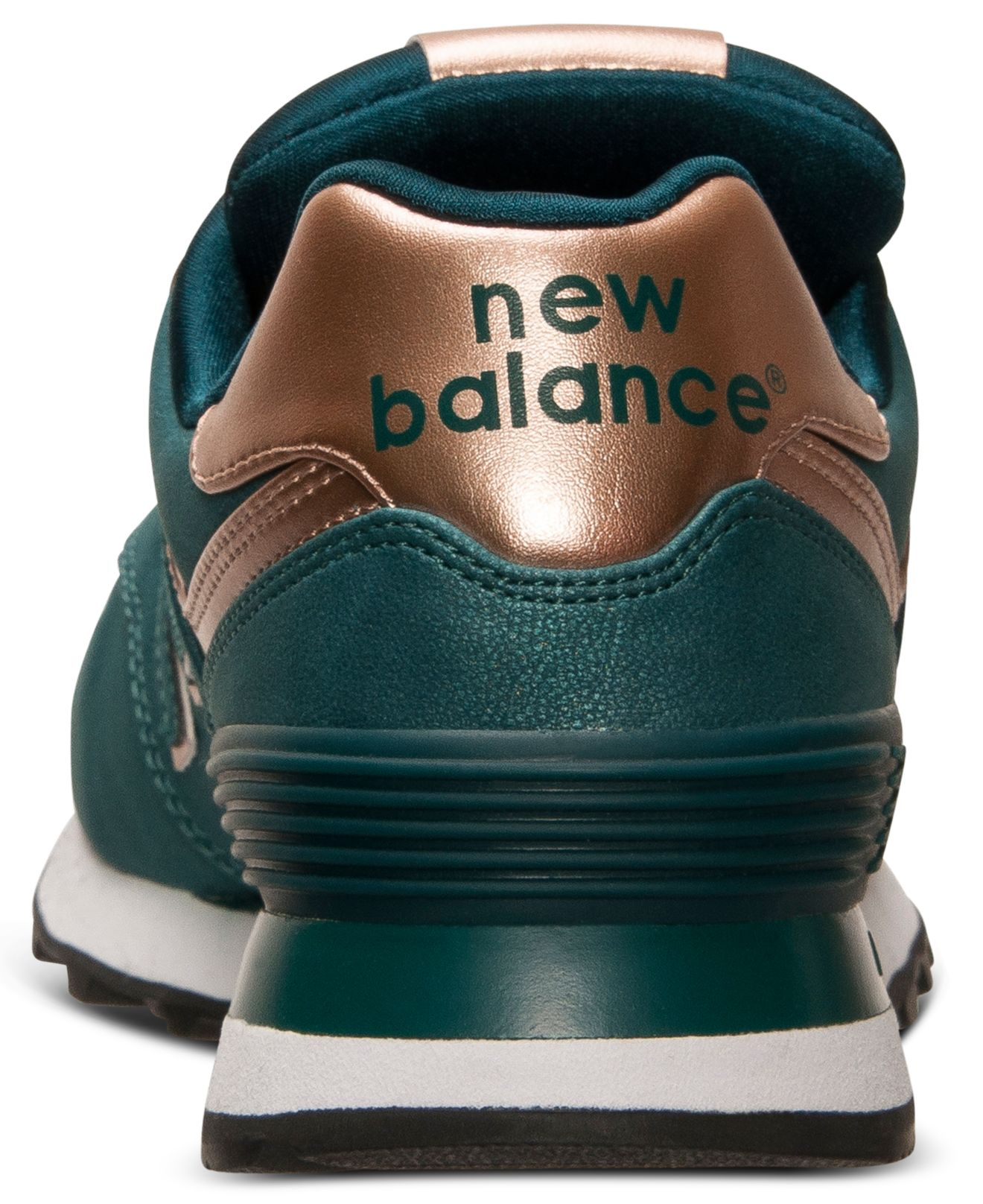 Women's 574 Precious Metals Casual Sneakers From Finish Line