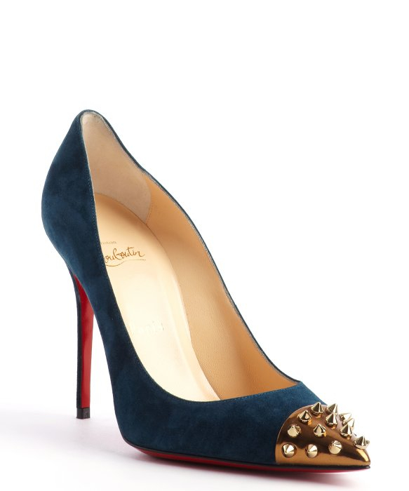 79ed82ebac7 Gallery. Previously sold at  Bluefly · Women s Christian Louboutin Spike