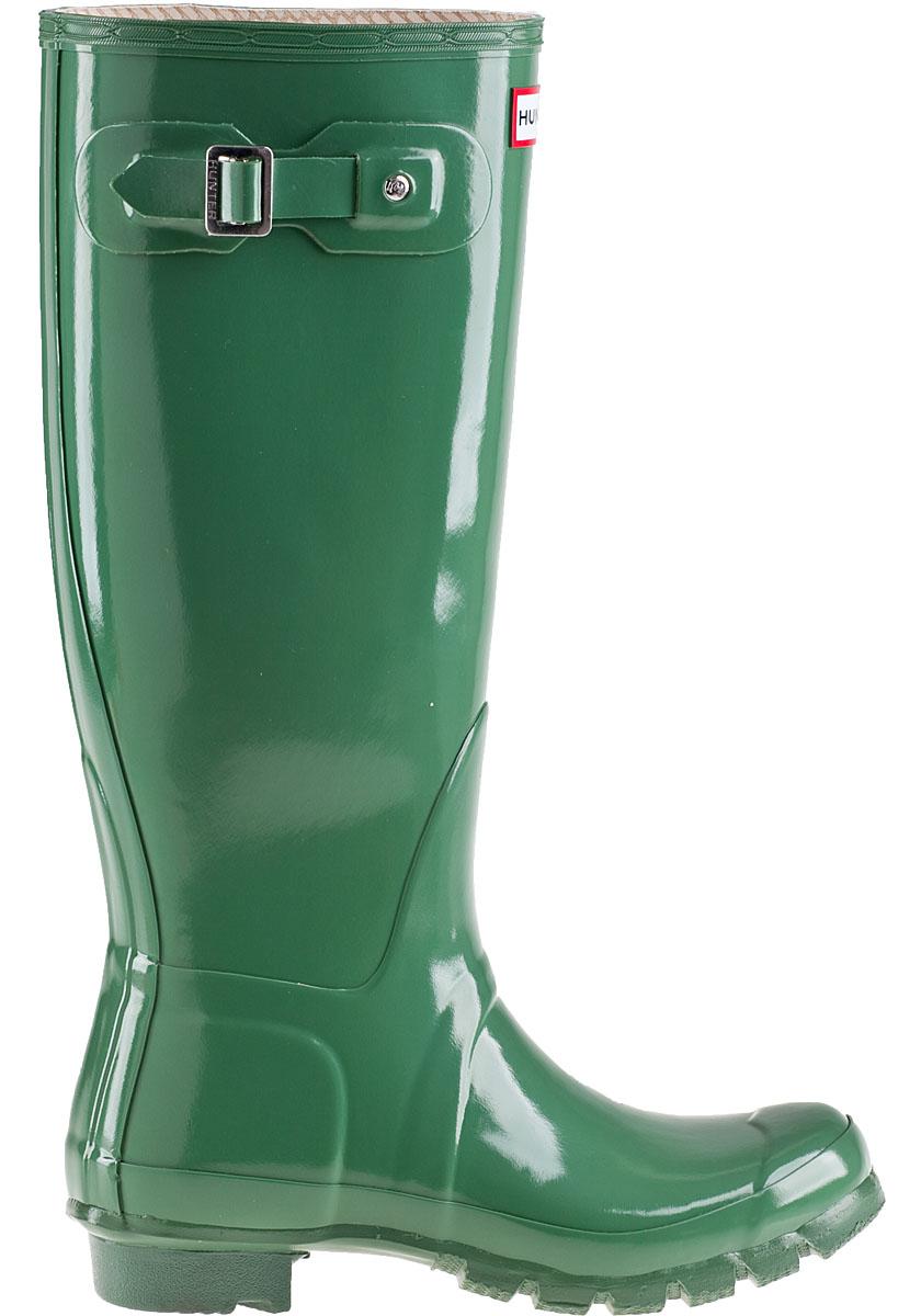 Hunter Original Gloss Rain Boot Moss Green Rubber In Green  Lyst