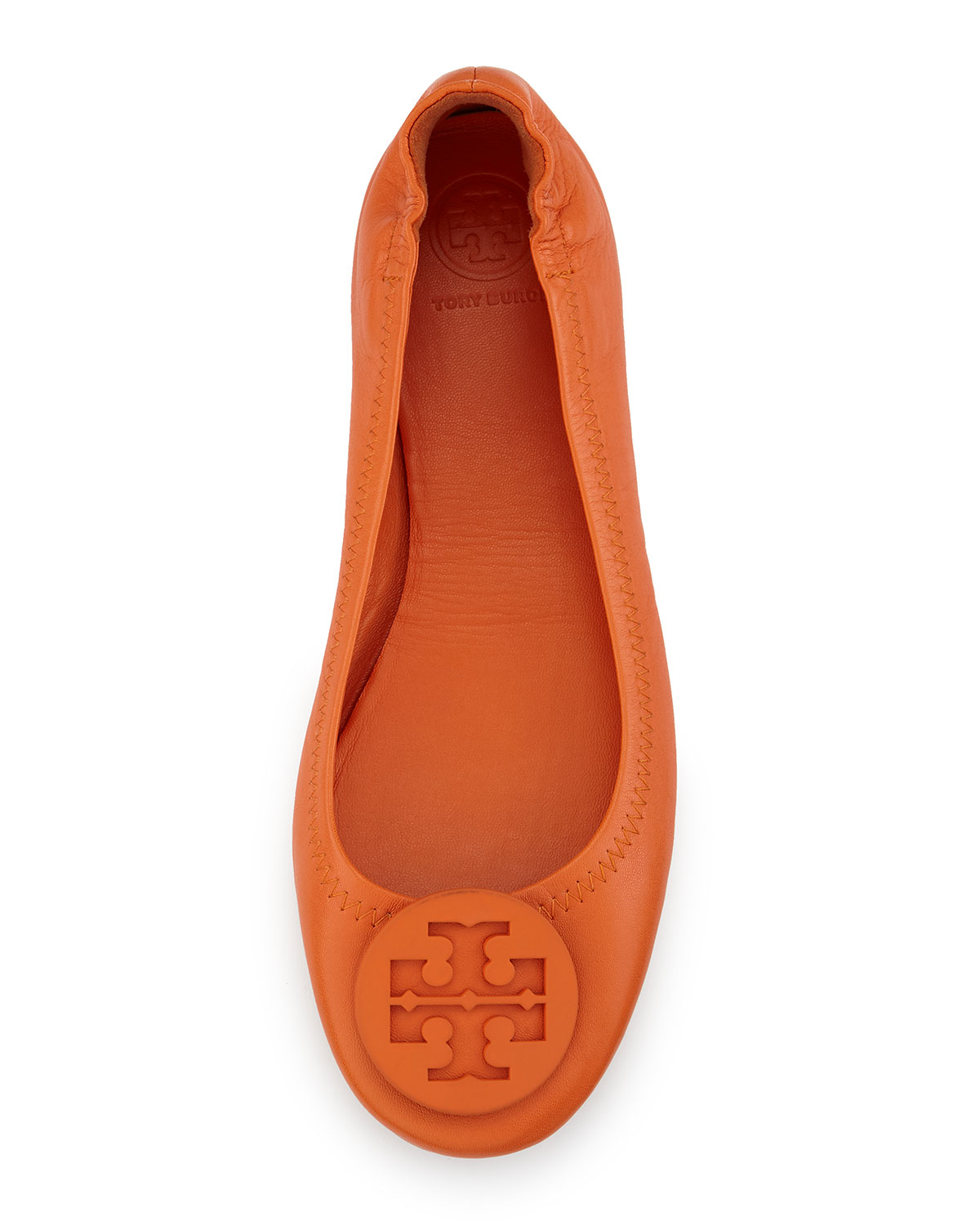 Tory Burch Packable Leather Travel Flat
