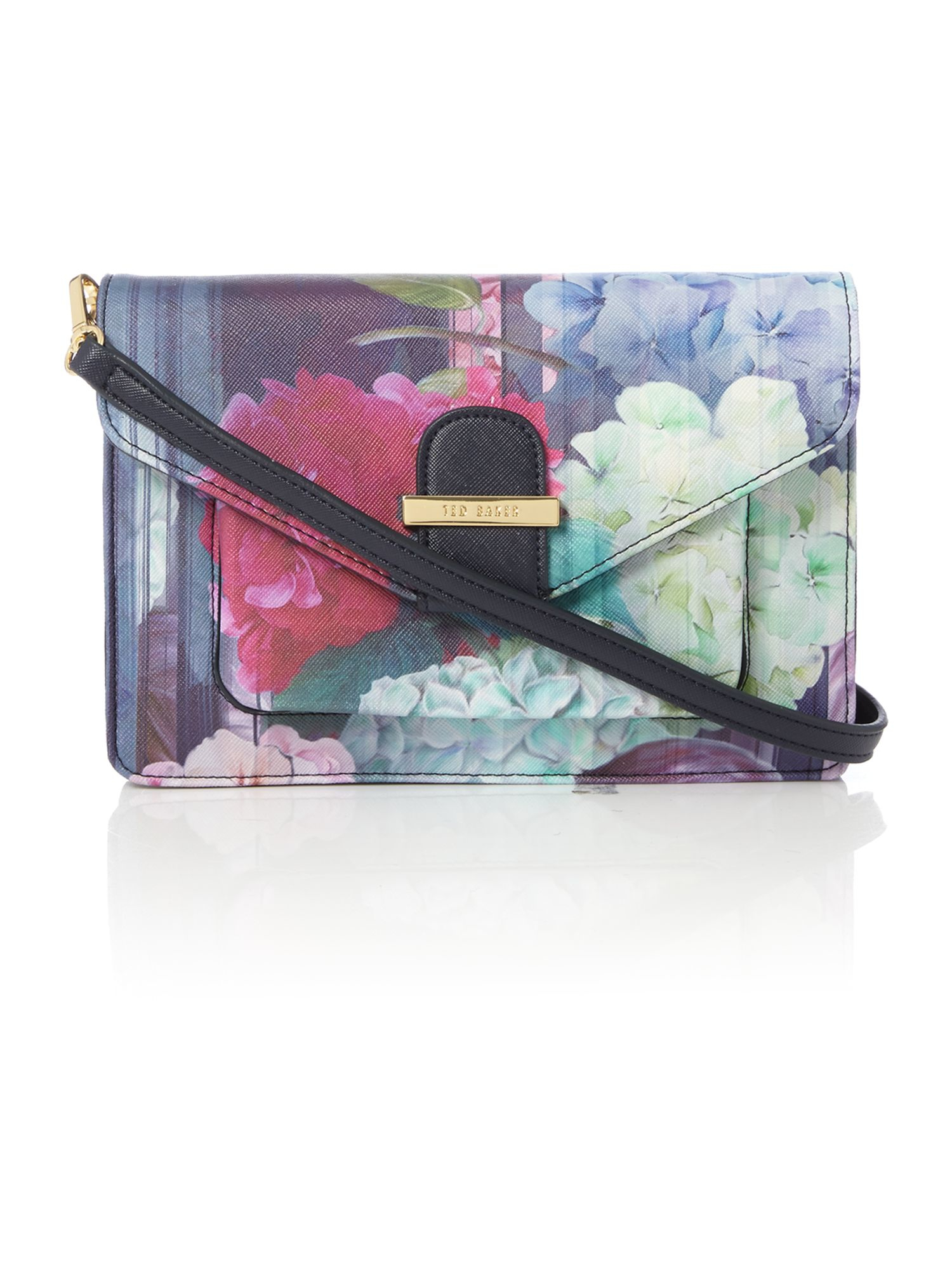 Ted Baker Chayla Multi Floral Cross Body Bag | Lyst