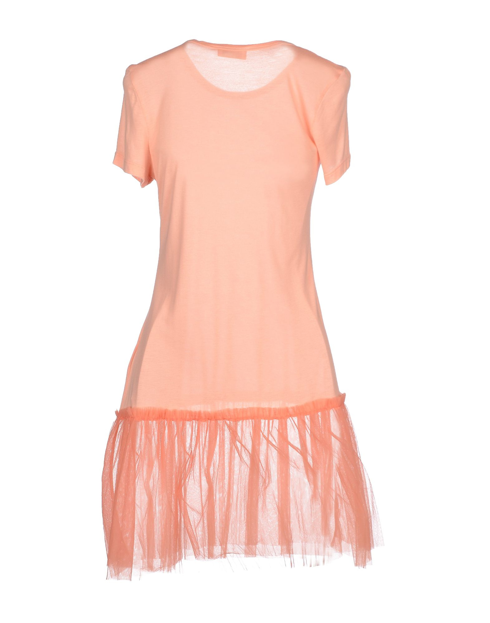 Red valentino t shirt in pink apricot save 50 lyst for Red valentino t shirt