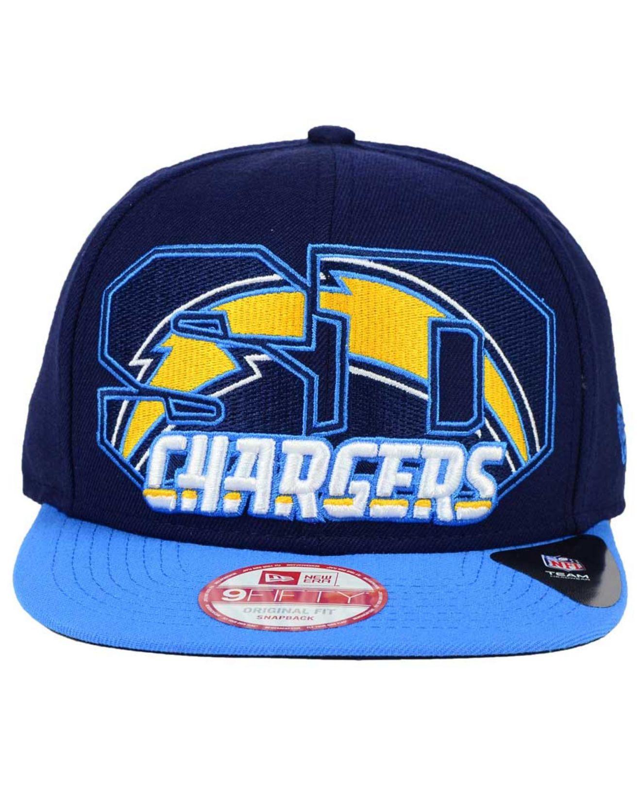 5d9a2e96c KTZ Blue San Diego Chargers Big City 9fifty Snapback Cap for men