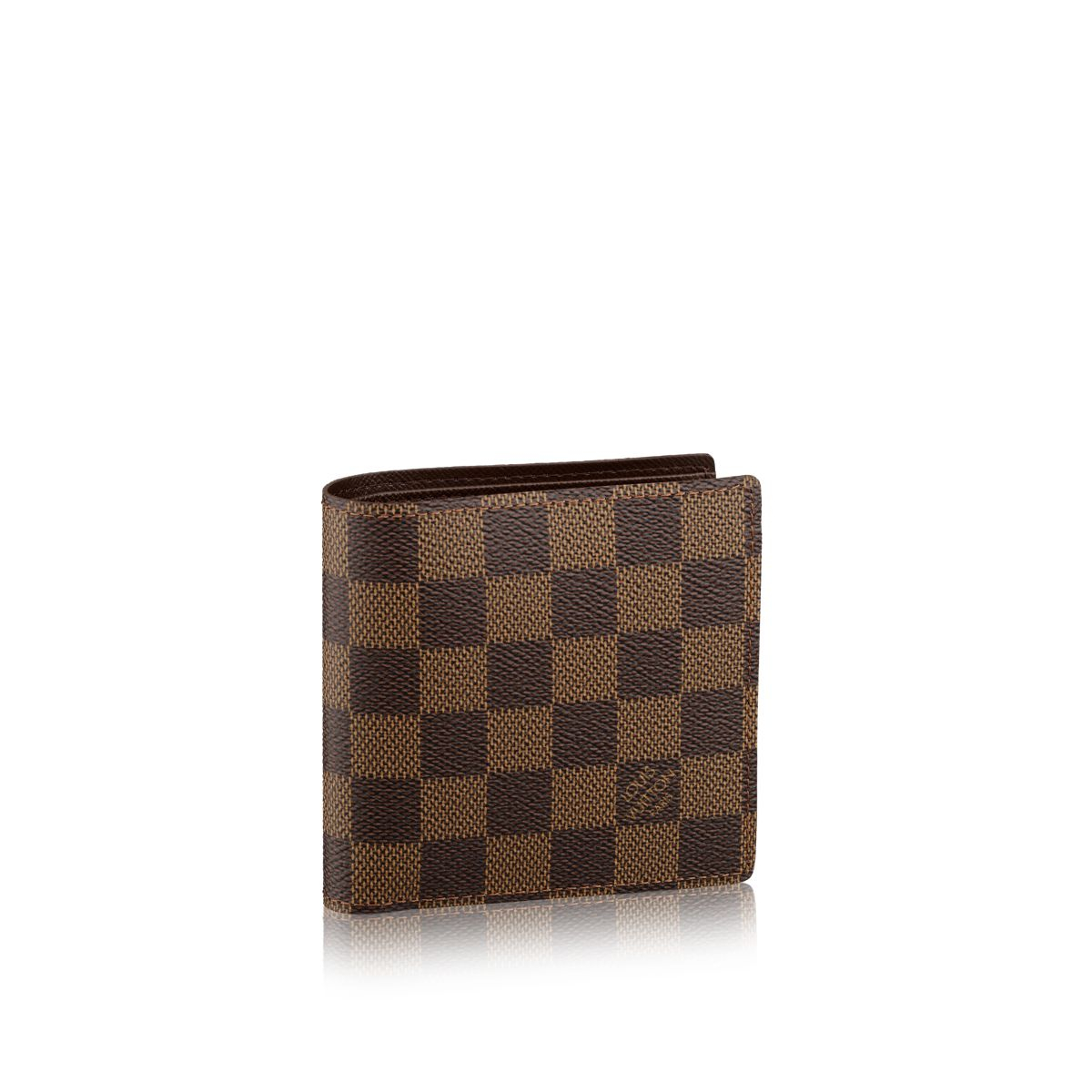 Louis Vuitton Marco Wallet In Brown For Men Damier