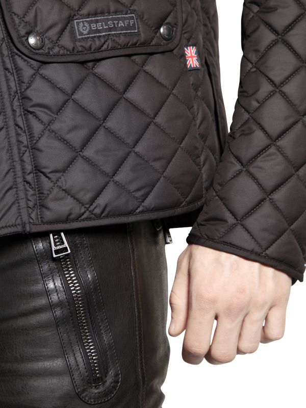 Belstaff Quot Wilson Quot Quilted Light Weight Jacket In Black For
