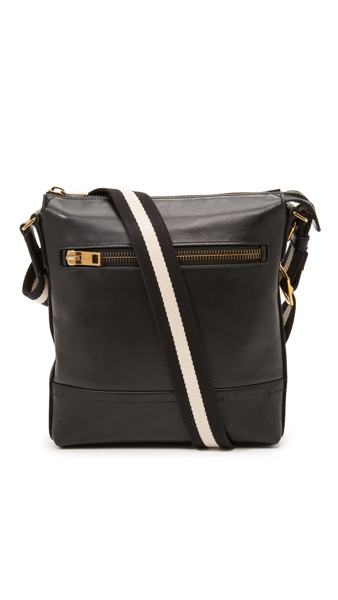 Lyst Bally Trezzini Sling Bag In Black For Men