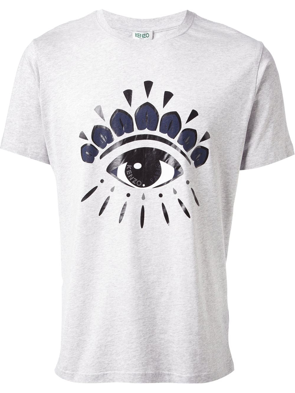lyst kenzo eye tshirt in gray for men. Black Bedroom Furniture Sets. Home Design Ideas