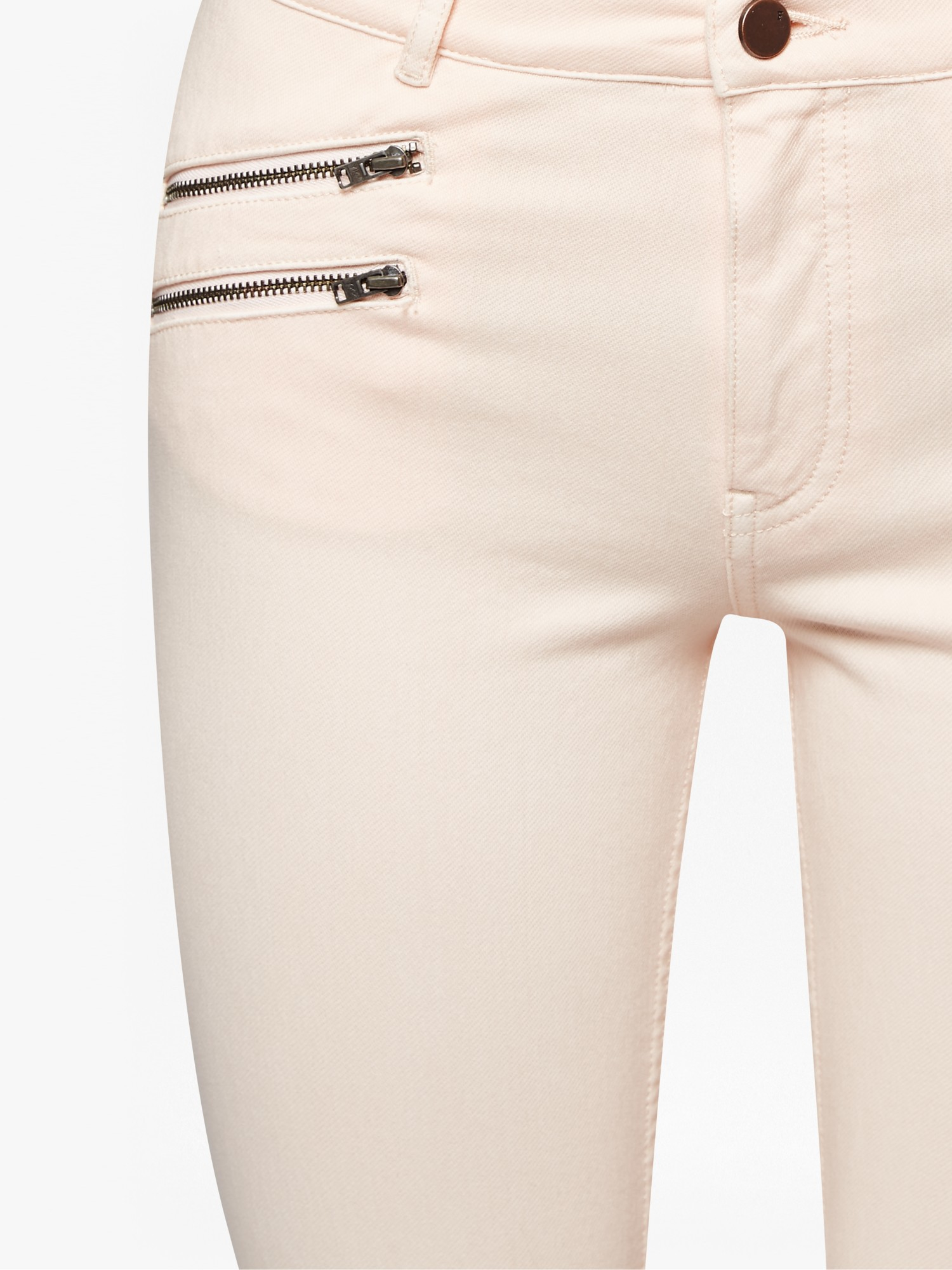 French Connection Lily Denim Super Skinny Jeans in Natural