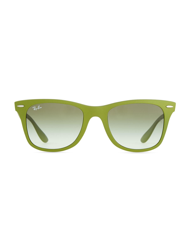 Ray Ban Glasses Frames Green : Ray-ban Liteforce Tech Wayfarer Sunglasses Green in Green ...
