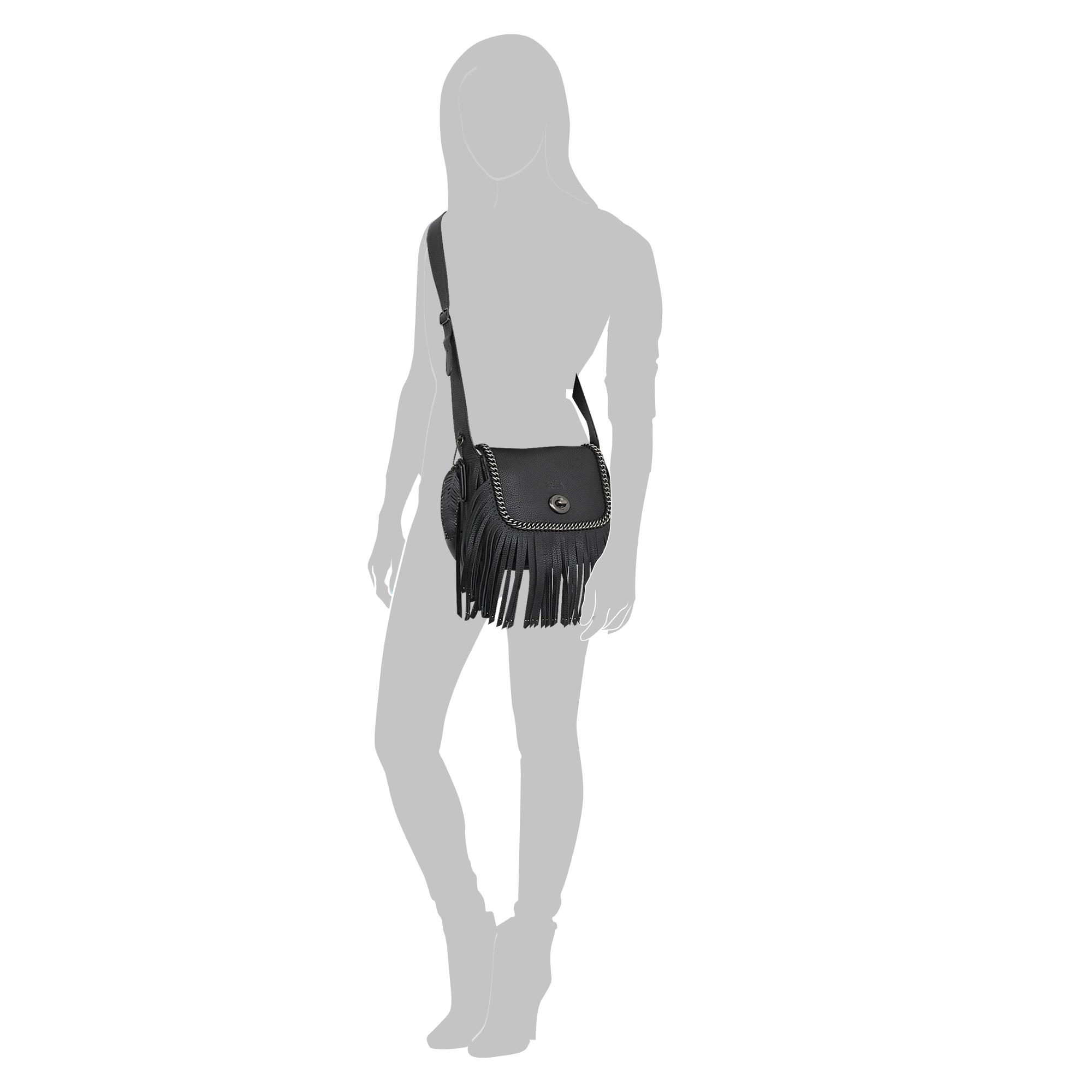 Coach Whipstitch Dakotah Fringe Bag In Black Lyst