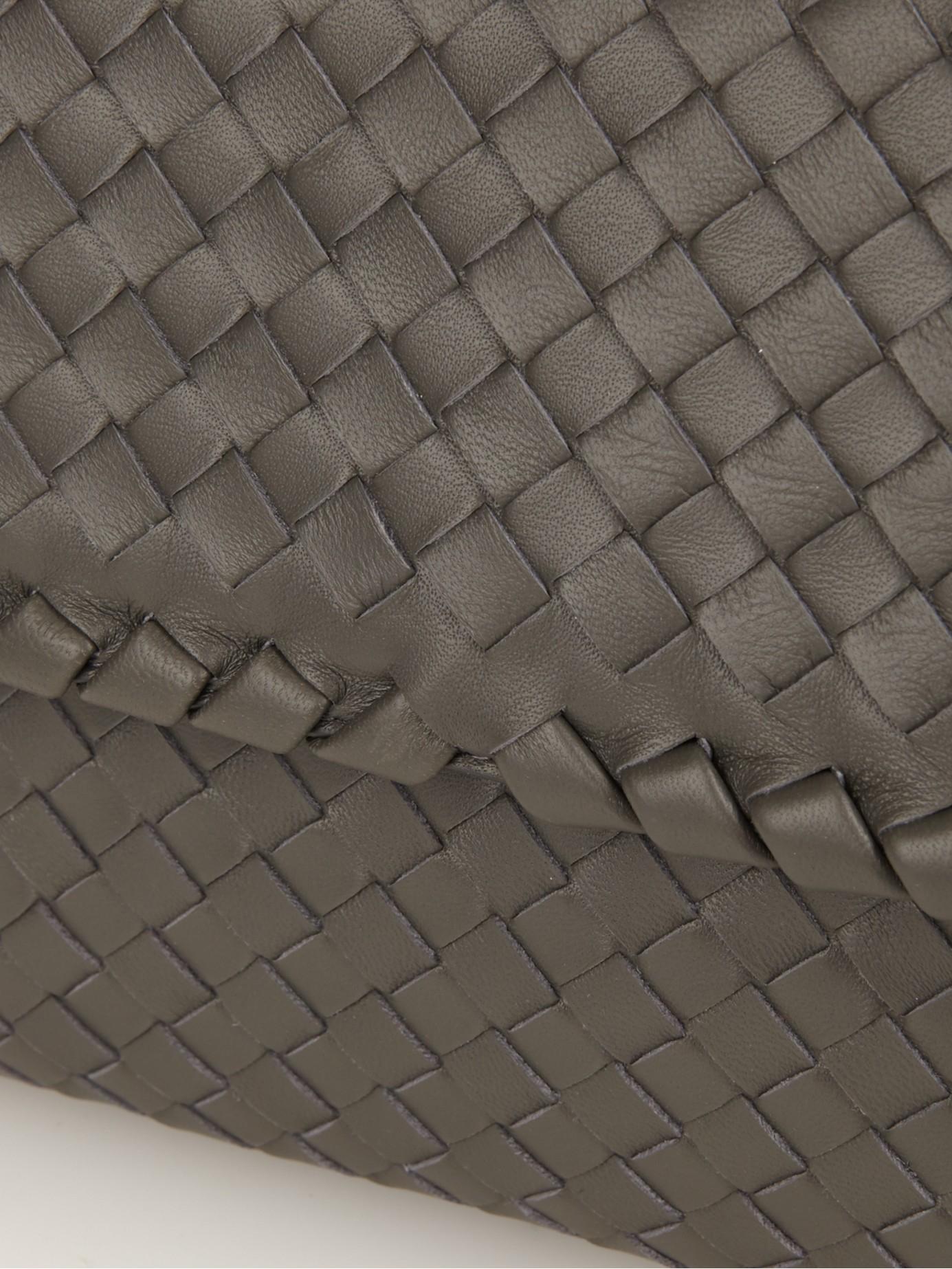 b08bc8689ade Bottega veneta Olimpia Small Intrecciato Leather Shoulder Bag in .