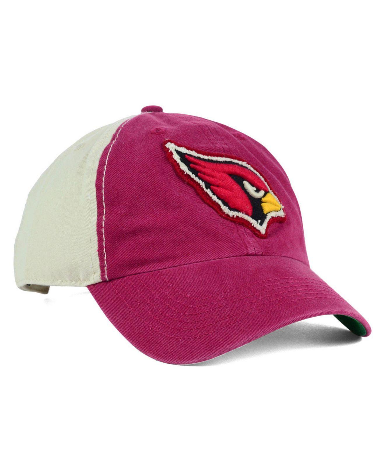 5daab5794 Lyst - 47 Brand Arizona Cardinals Nfl Derby Clean Up Cap in Purple ...