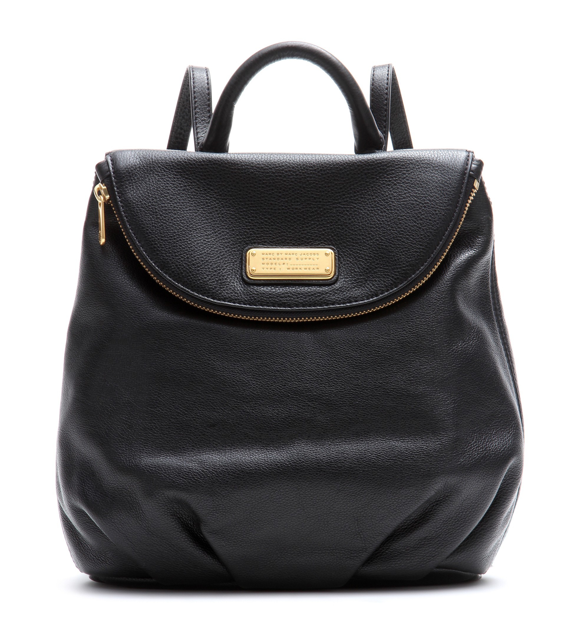 Lyst Marc By Marc Jacobs Mariska Leather Backpack In Black