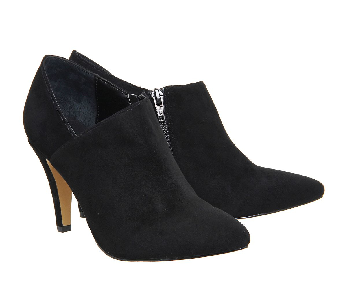 office shoe boots in black black suede lyst