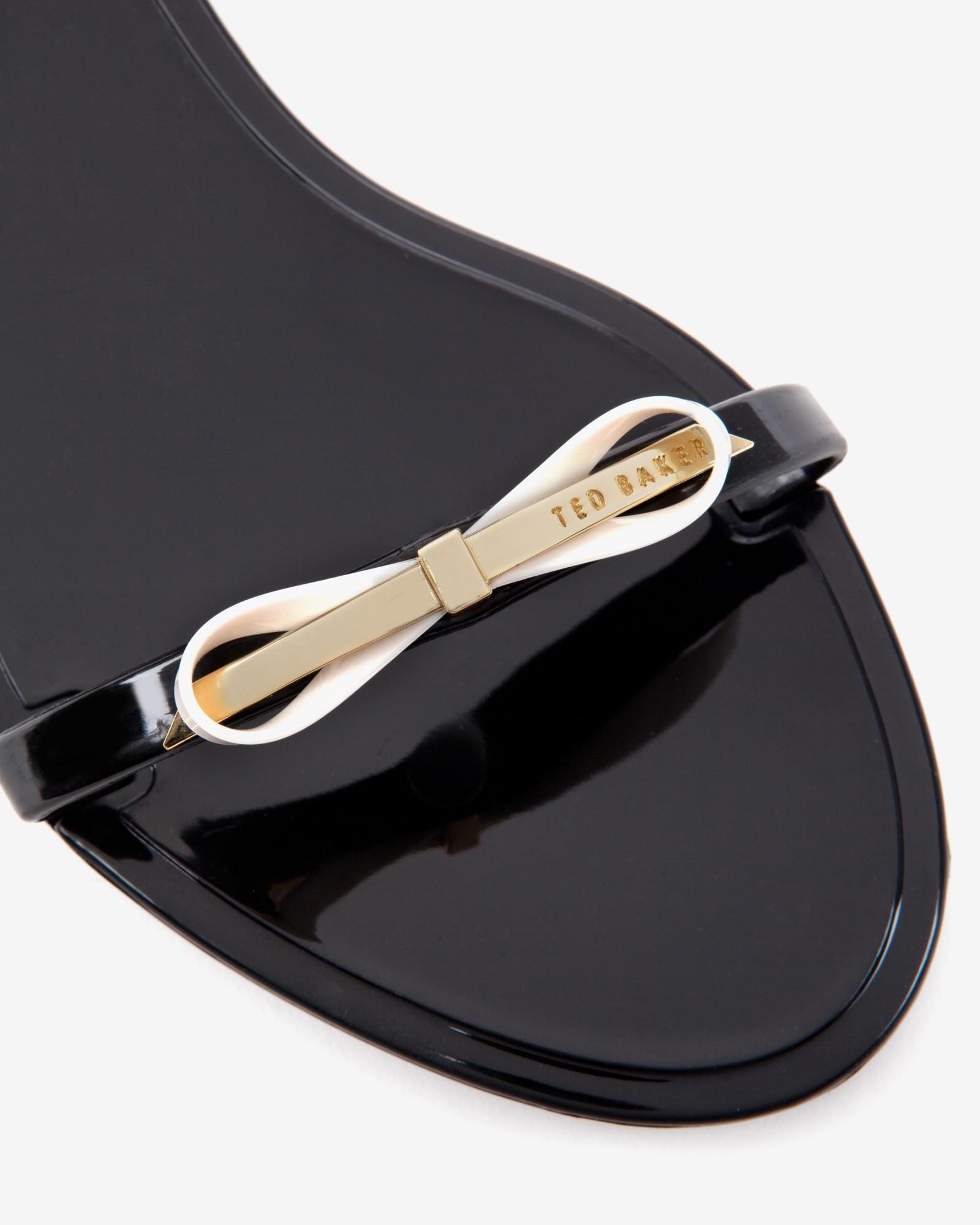 3de1b4d7e Lyst - Ted Baker Jelly Sandals in Black