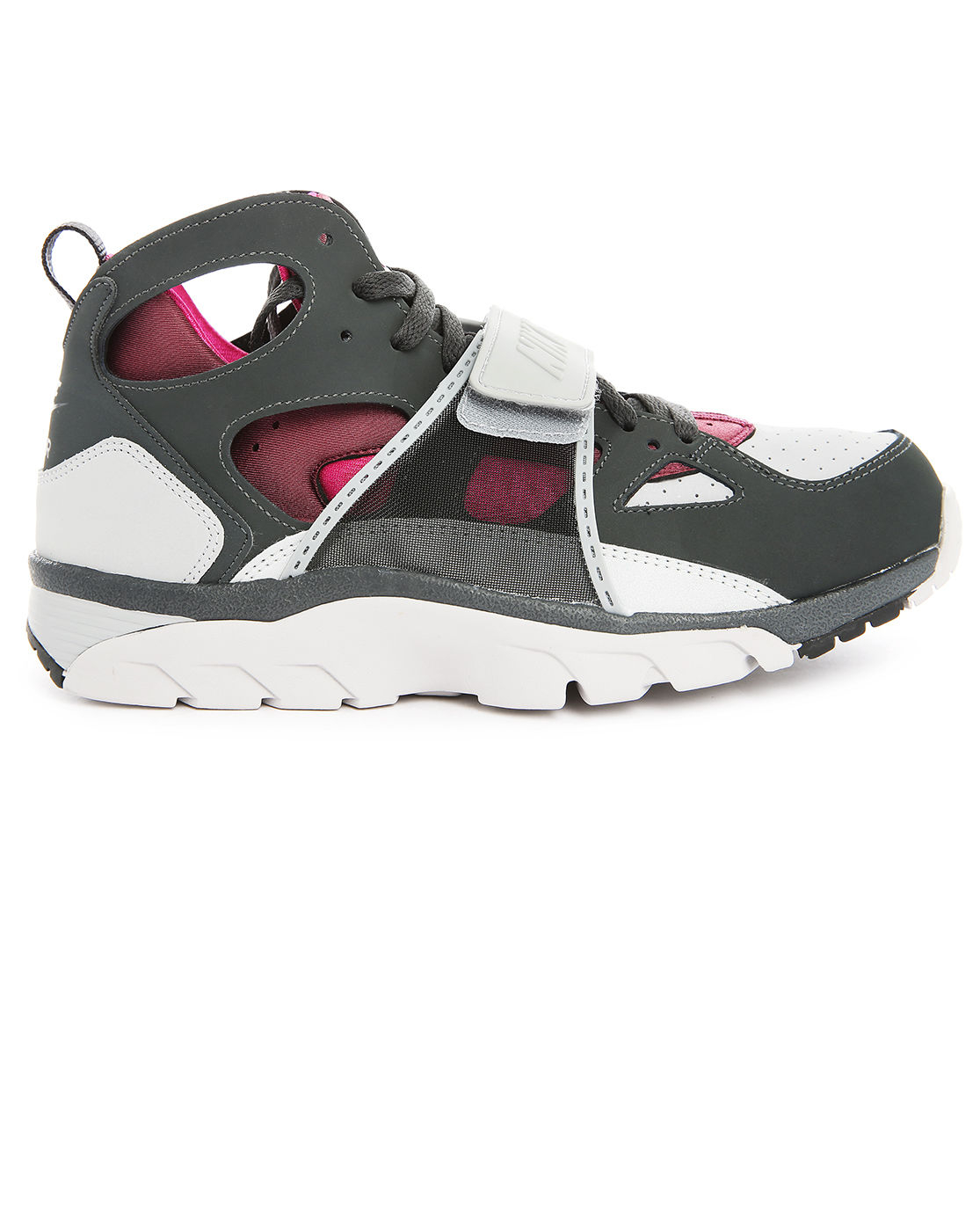 nike huarache grey fuchsia trainers in pink for men grey. Black Bedroom Furniture Sets. Home Design Ideas