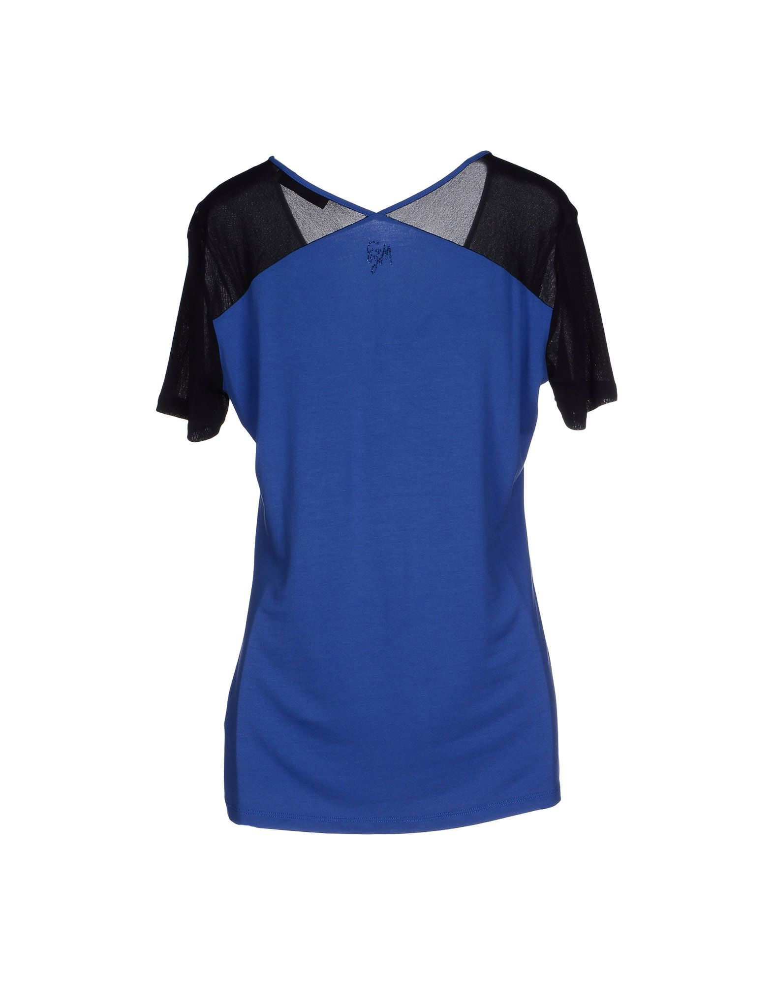 guess t shirt in blue lyst. Black Bedroom Furniture Sets. Home Design Ideas