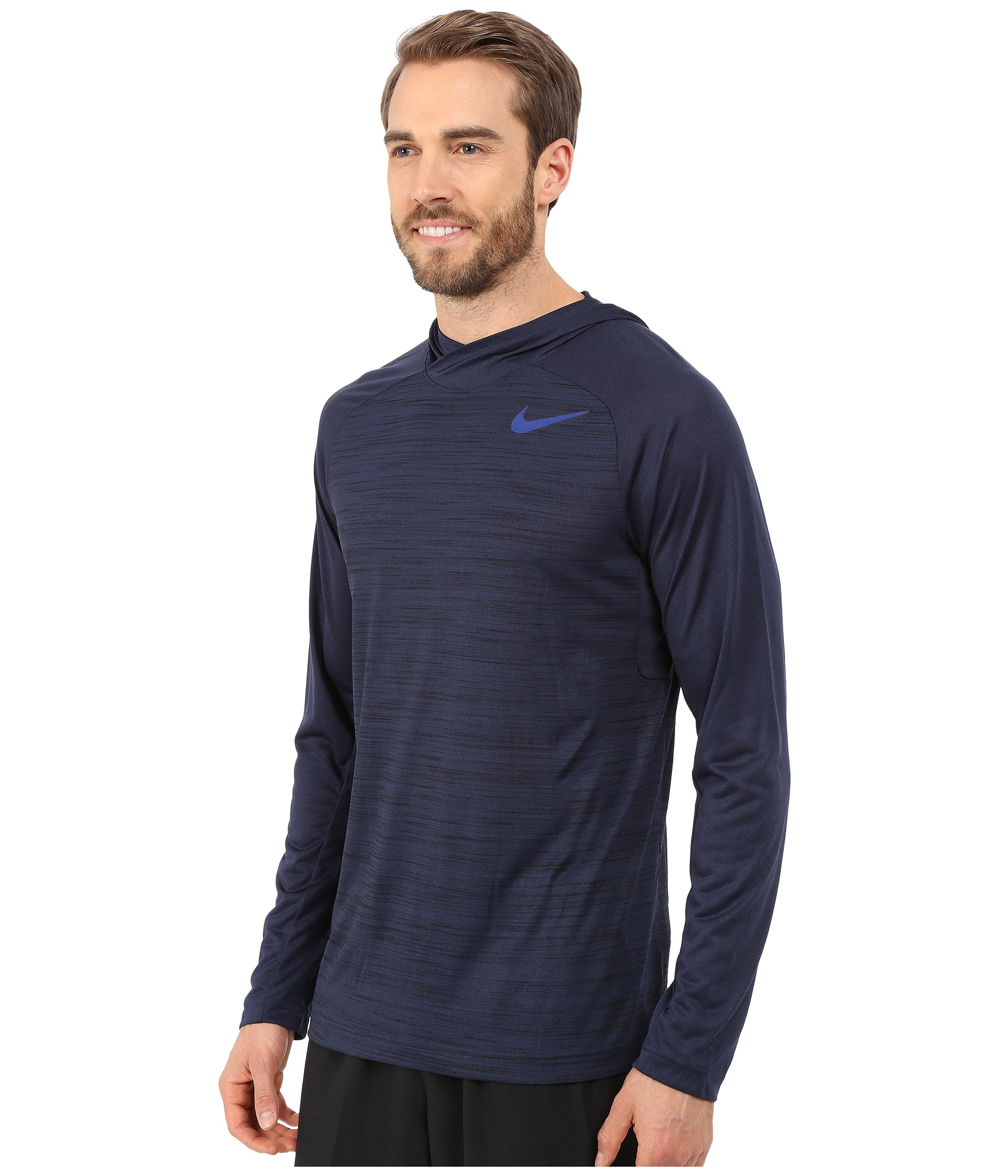 a70851e4 Nike Mens Dri Fit Touch Hooded Long Sleeve Shirt – EDGE Engineering ...