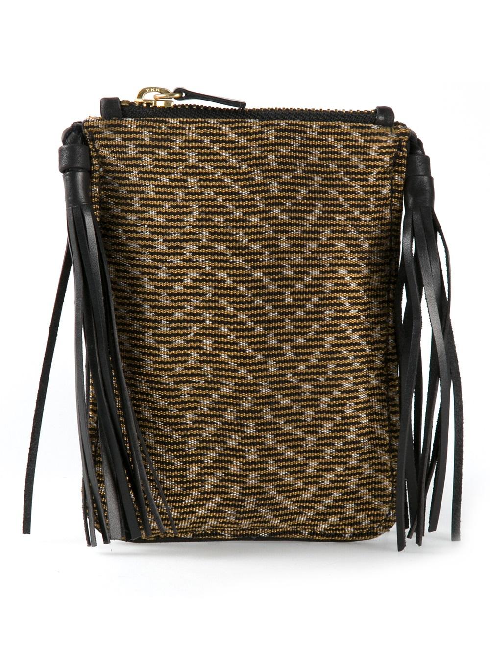 Hacienda Montaecristo 'Liliana' Crossbody Bag in Black