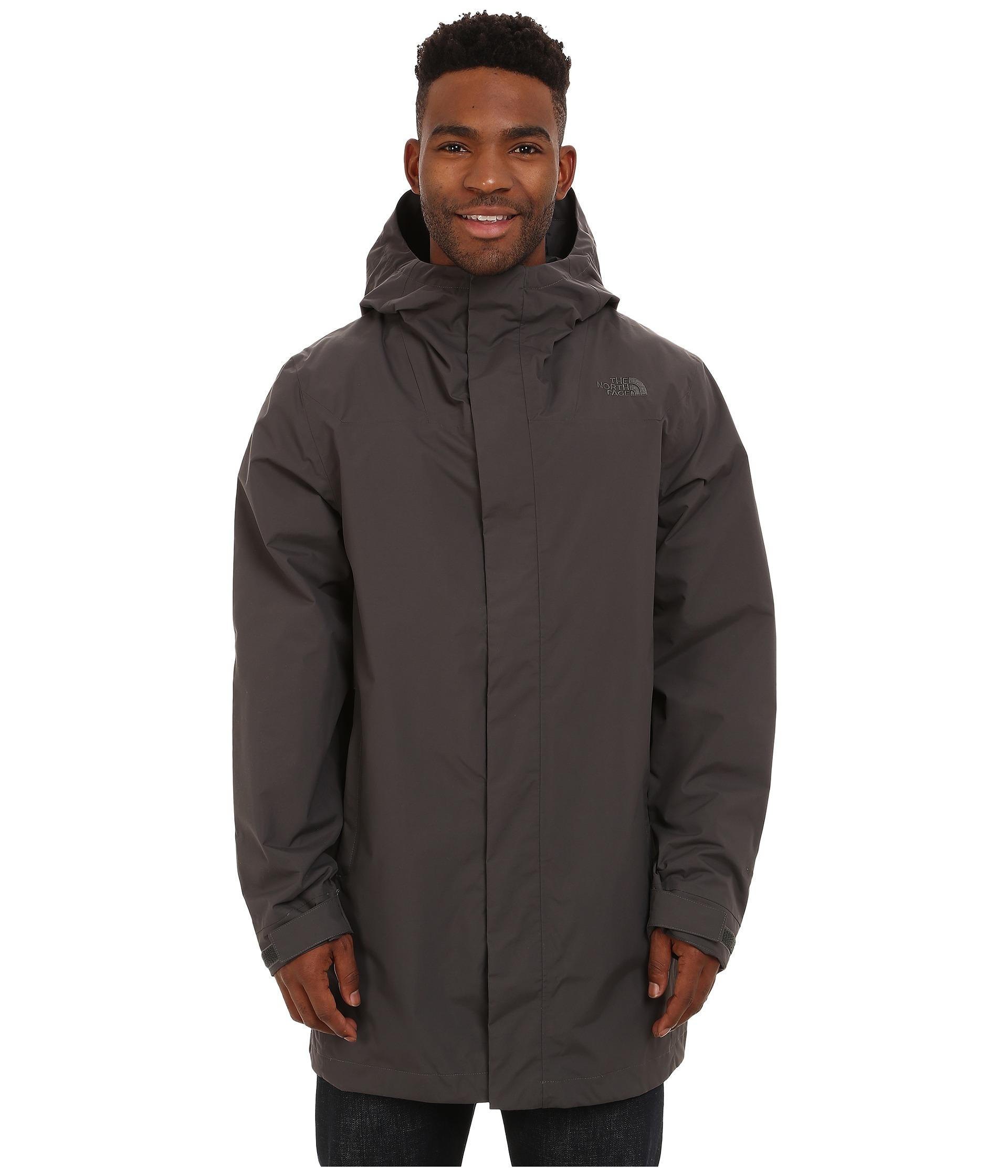 8a92ecf6b The North Face Gray El Misti Trench Coat for men