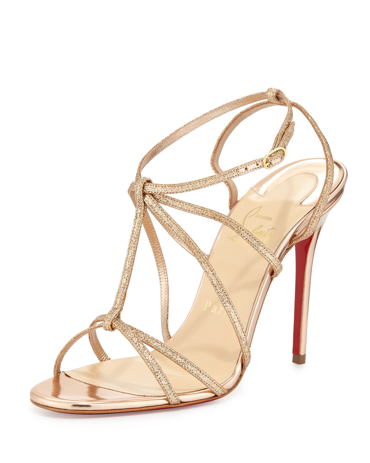 christian louboutin multi strap sandals - Bbridges