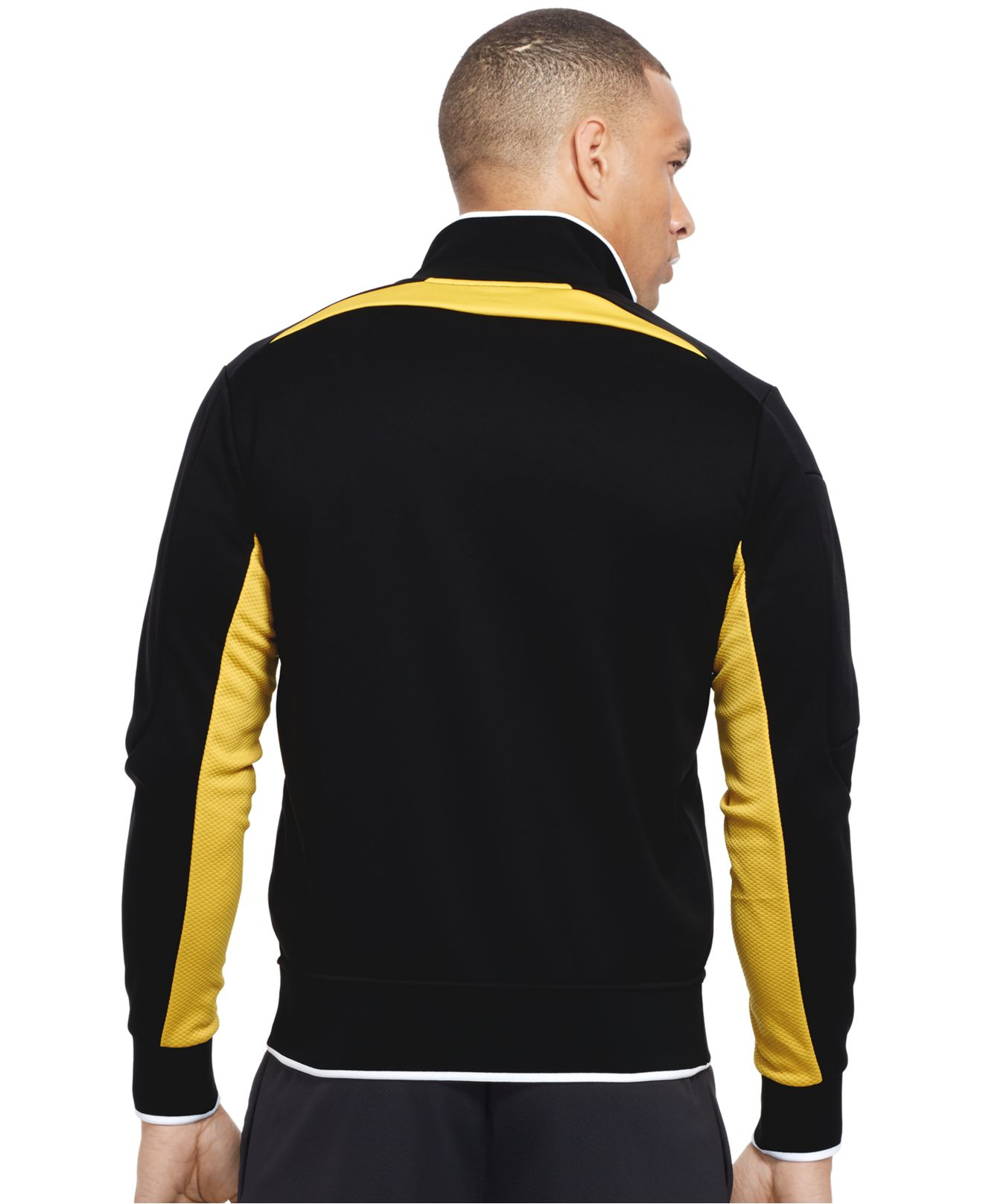 polo ralph lauren polo sport colorblocked track jacket in. Black Bedroom Furniture Sets. Home Design Ideas