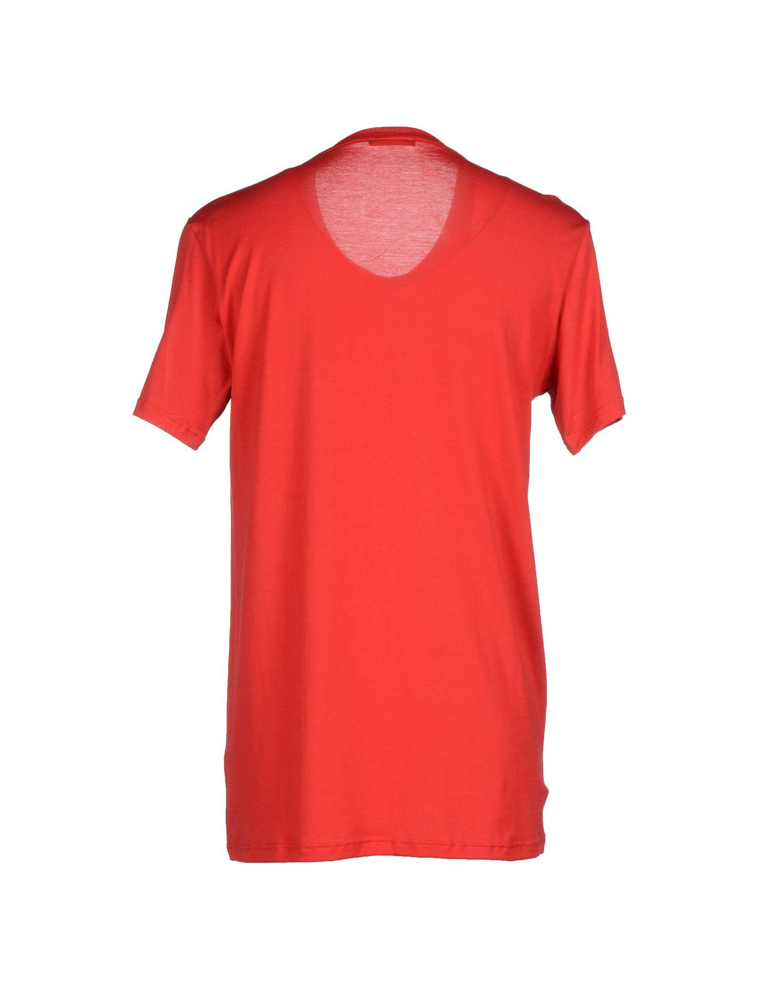 balmain t shirt in red for men lyst. Black Bedroom Furniture Sets. Home Design Ideas