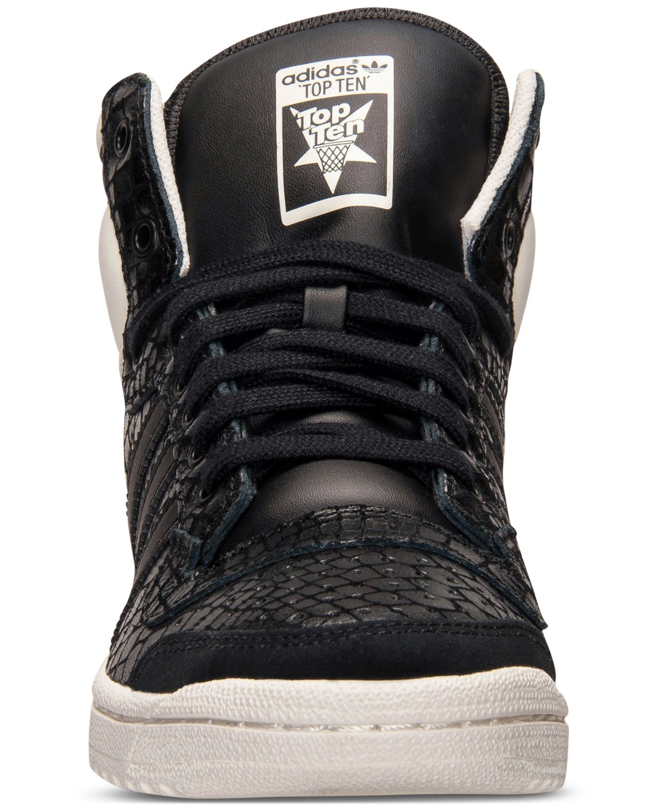 new arrival 2f922 712e2 adidas Originals Women s Top Ten Hi Casual Sneakers From Finish Line ...