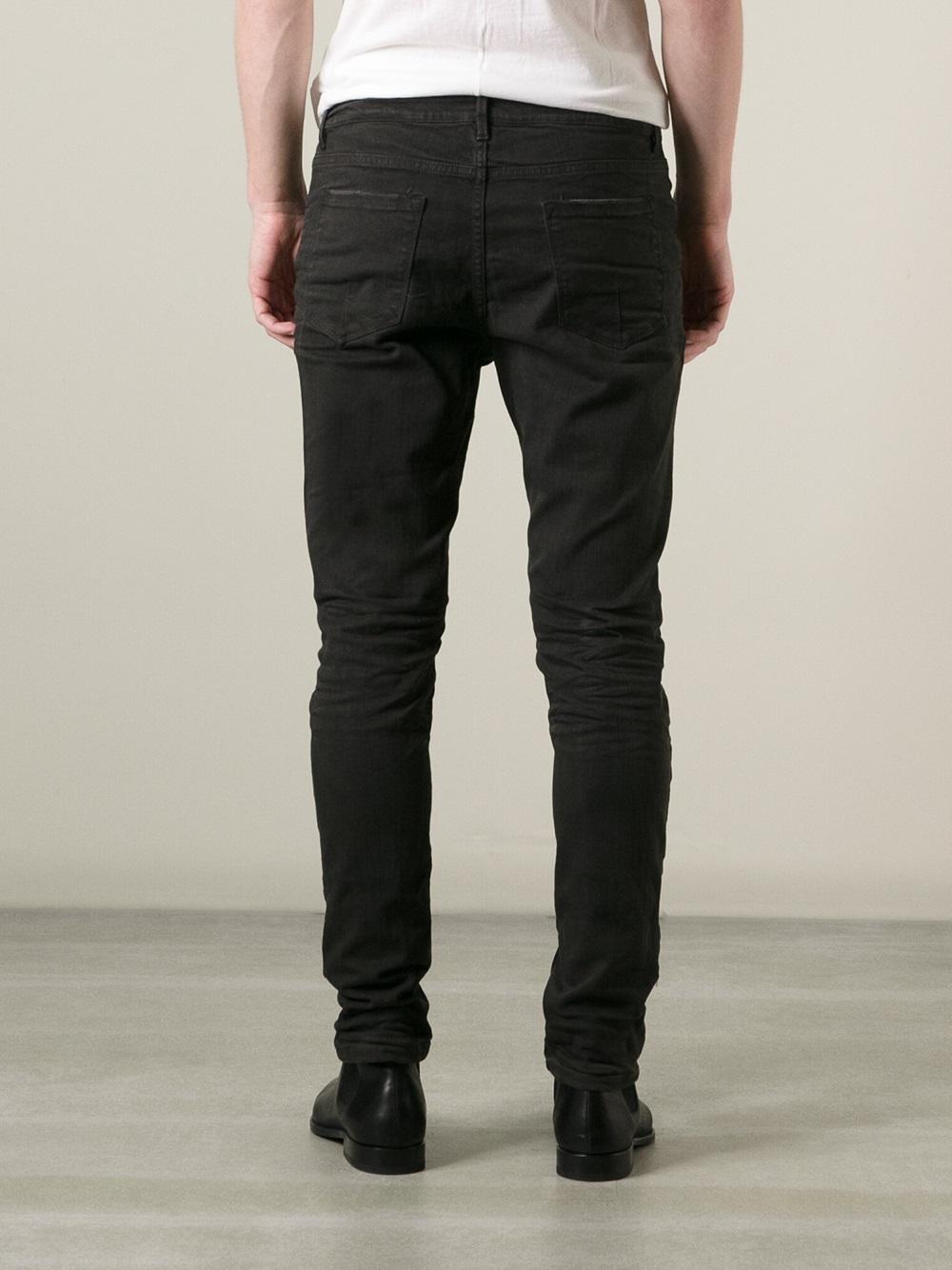 Poeme Bohemien Skinny Jeans in Black for Men