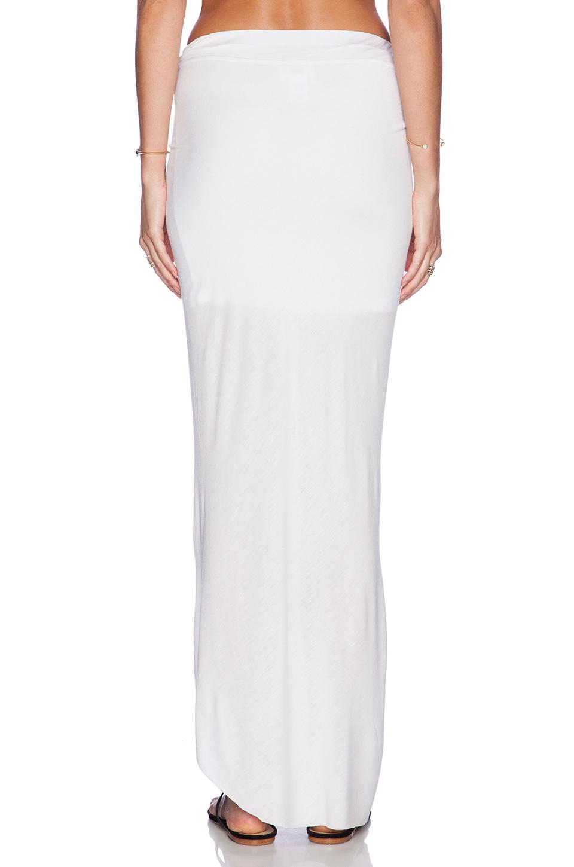 fabulous kulani maxi skirt in white lyst