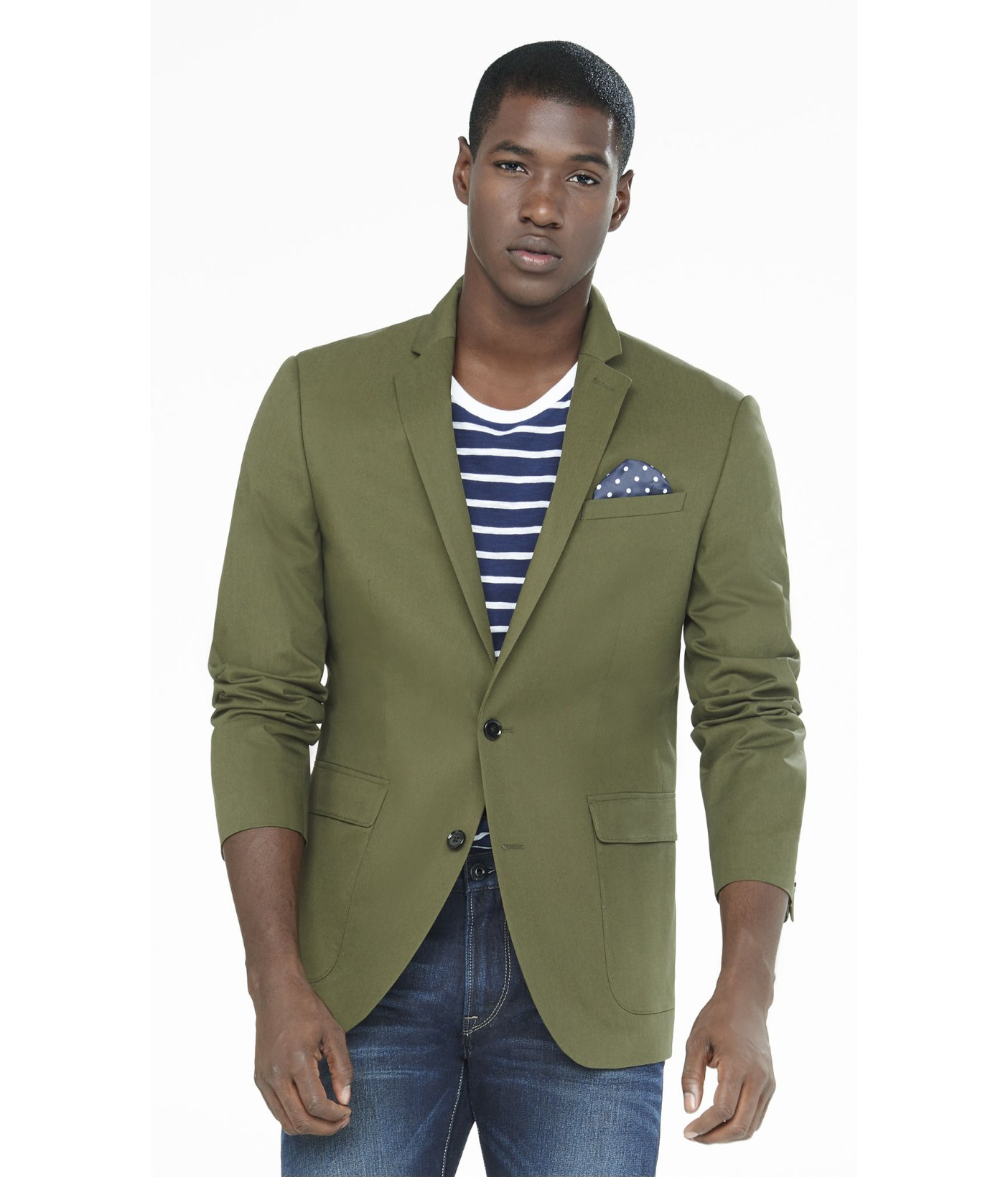 Olive Green Blazer Men | Fashion Ql