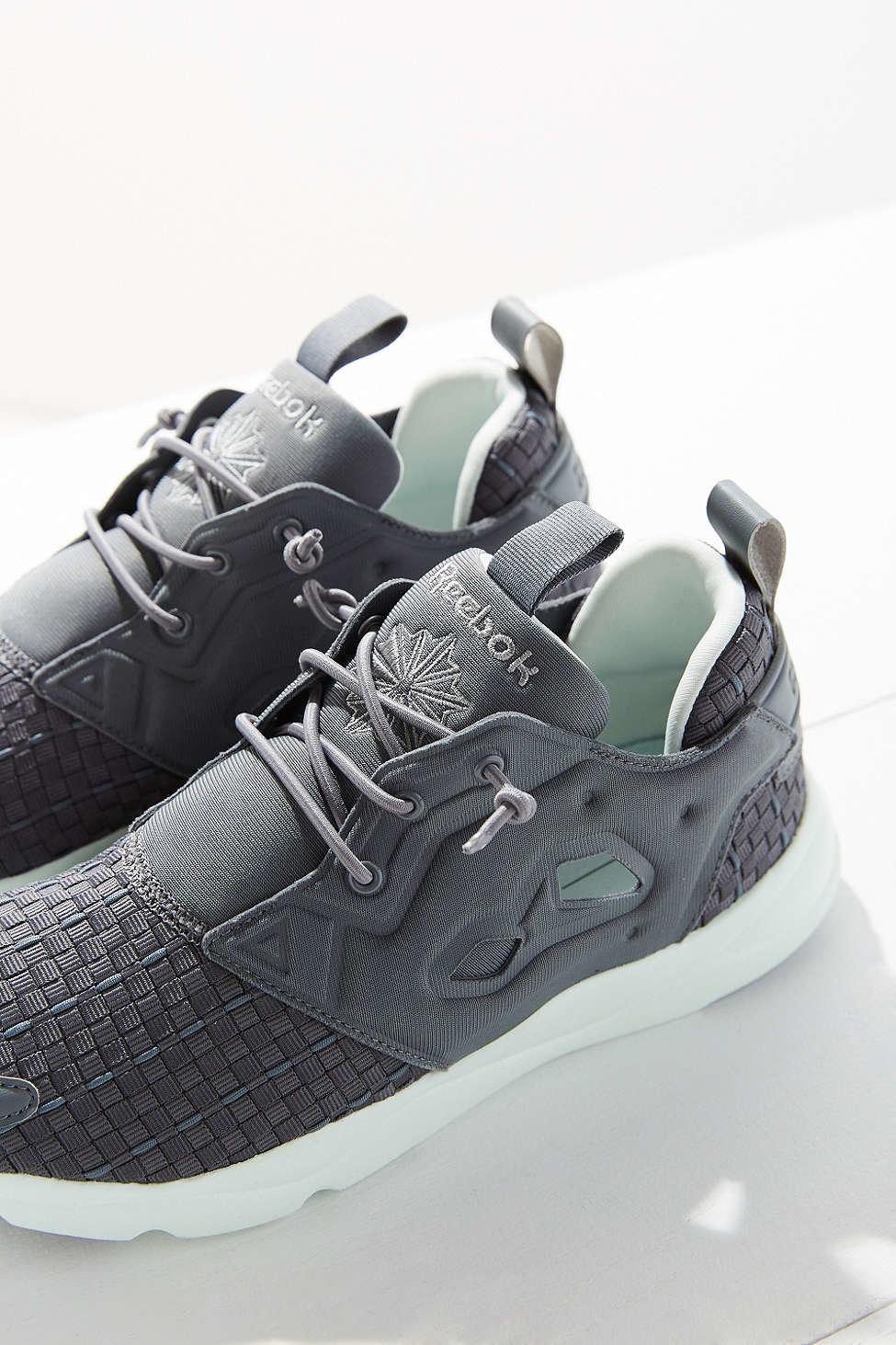 8391ceb649a99 Lyst - Reebok Furylite New Woven Sneaker in Gray