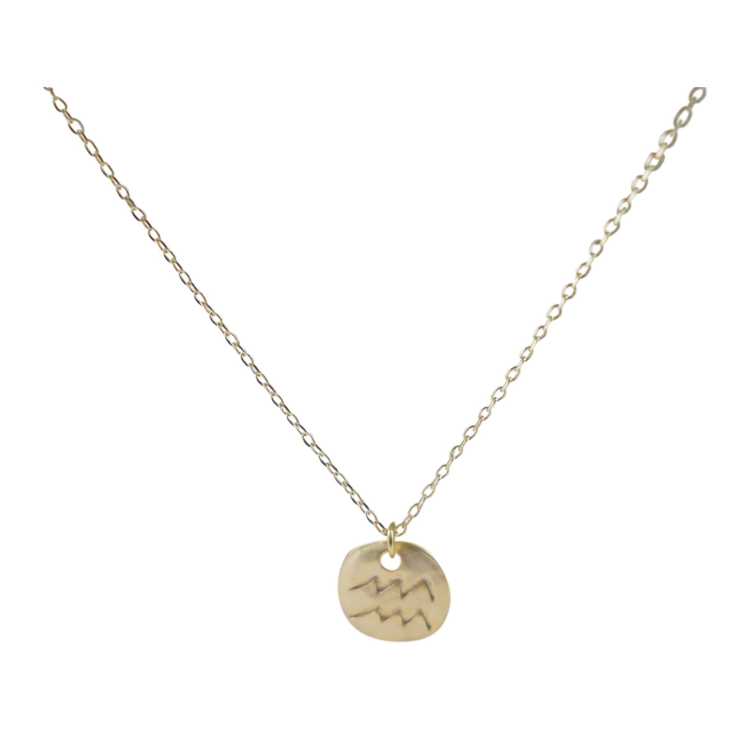 ziba layered aquarius necklace in gold lyst