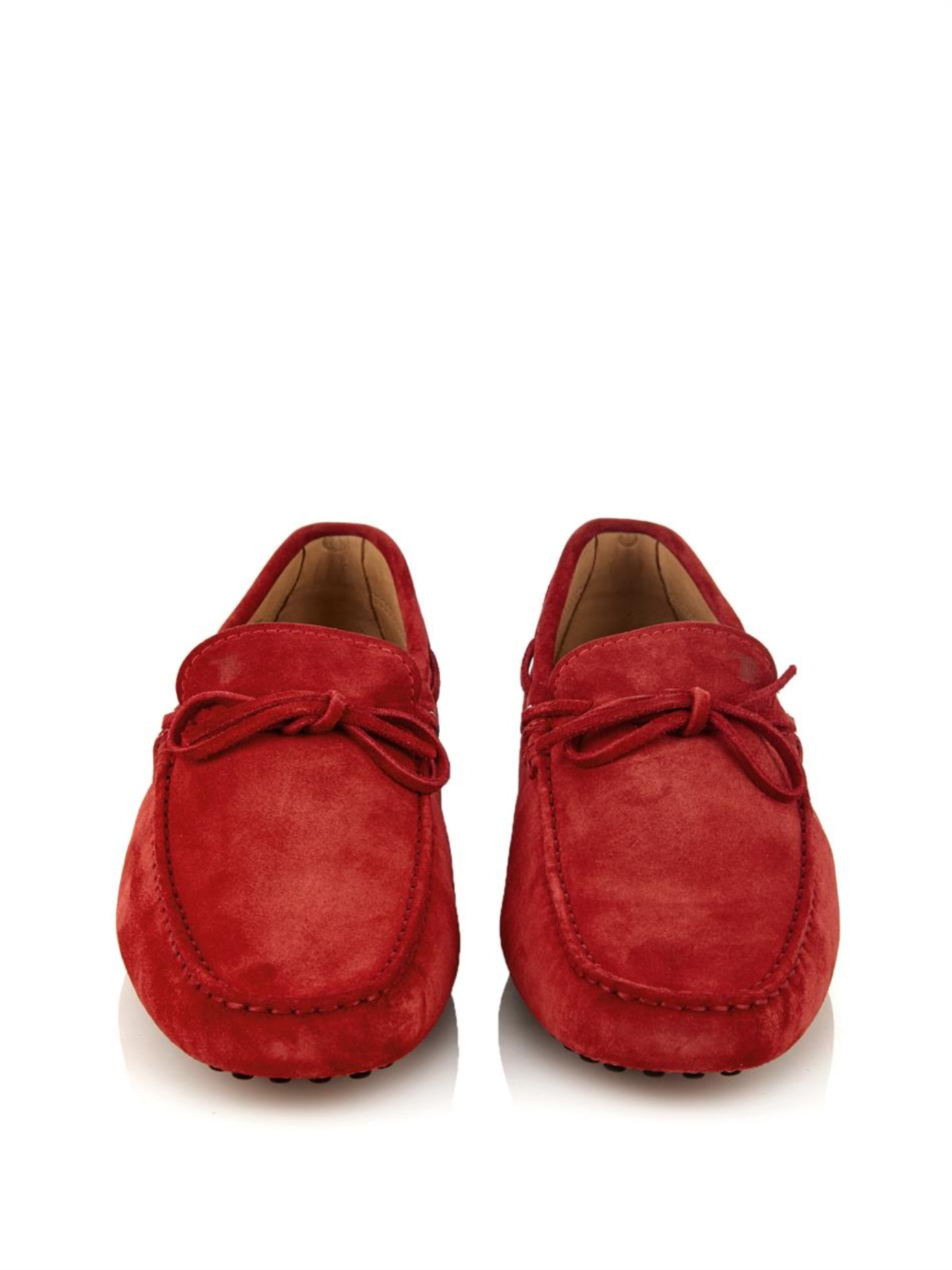 gommino driving shoes - Red Tod's Free Shipping Best Place Cheap Sale Get Authentic 2018 Unisex For Sale HzyzdnI