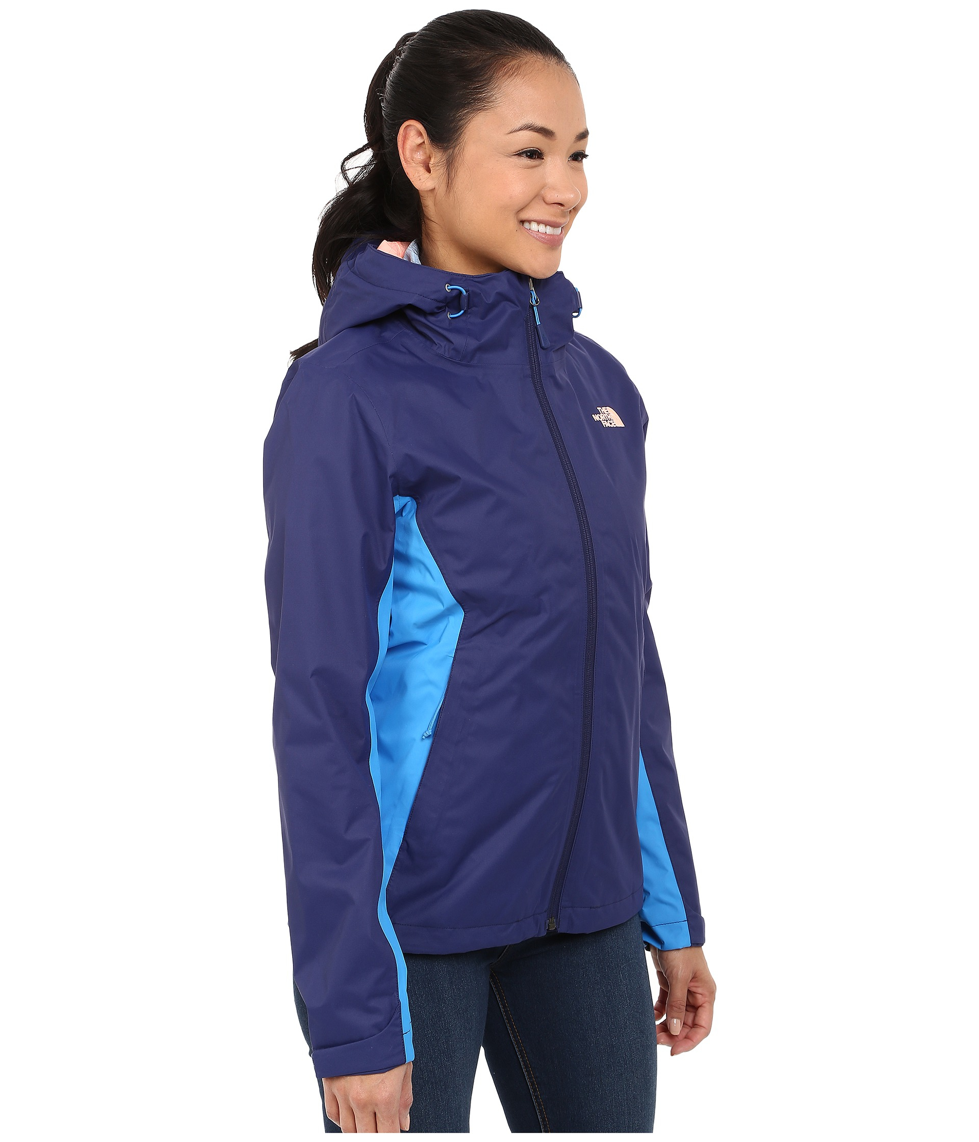 754b3374d501 Lyst - The North Face Arrowood Triclimate® Jacket in Blue