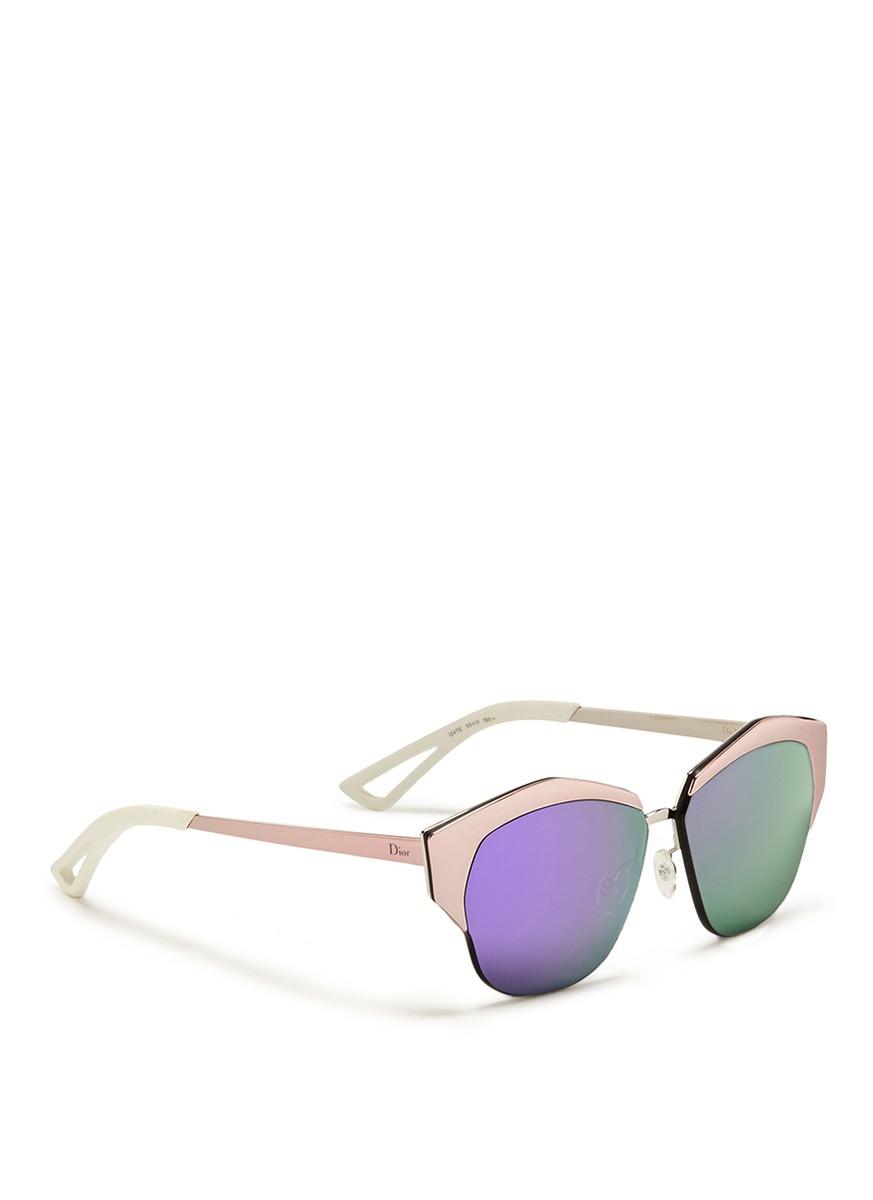 Dior Glasses Frames Cat Eye : Dior montaigne Colourblock Acetate Cat Eye Optical ...