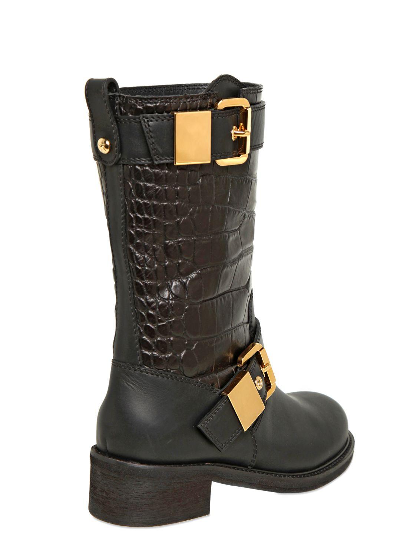 Giuseppe Zanotti Leather Biker Boots ly0guRQ