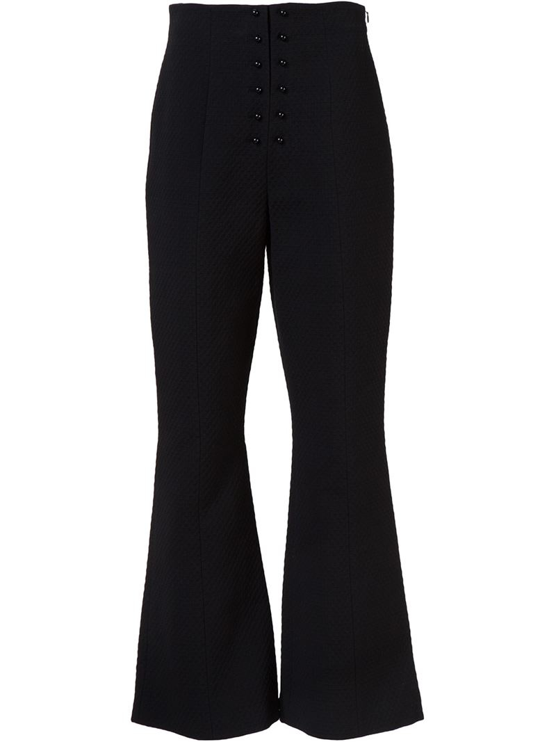 how to make flared trousers