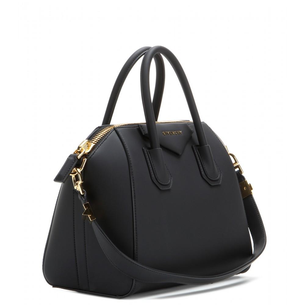 5772e3c5671f Lyst - Givenchy Antigona Small Tote in Black