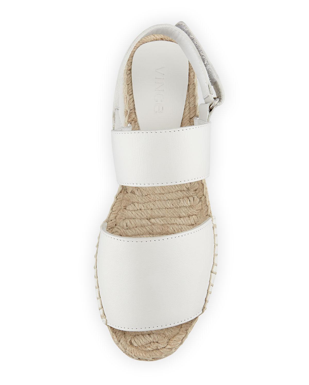 34be10edc77 Lyst - Vince Emilia Platform Espadrille Sandals in White
