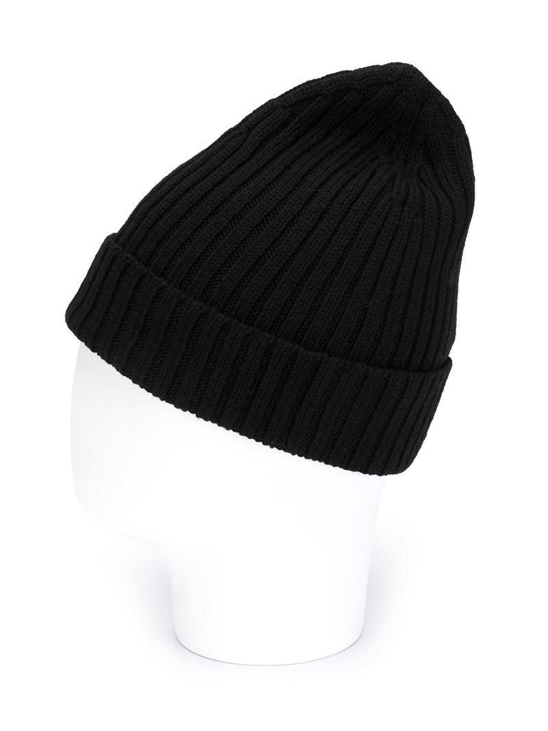 Lyst - OAMC Ribbed Beanie Hat in Black for Men 42bfc874be2