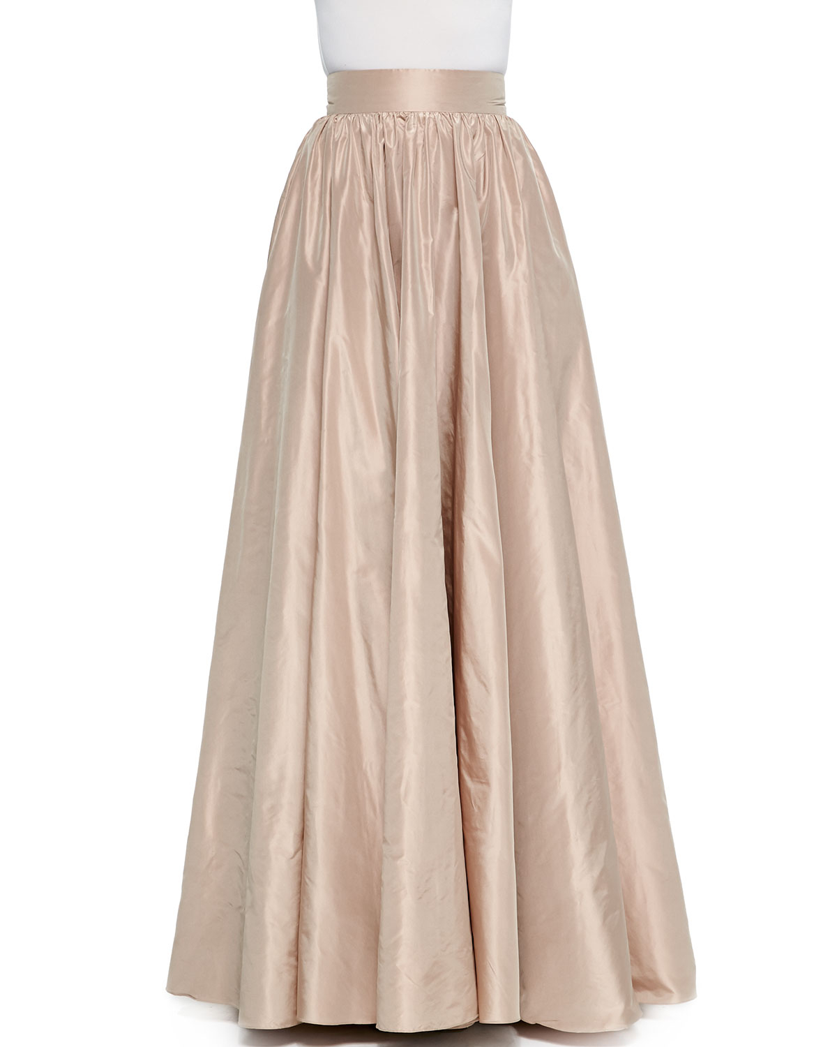 Jenny packham Full Wide-Waist Ball Skirt in Metallic | Lyst